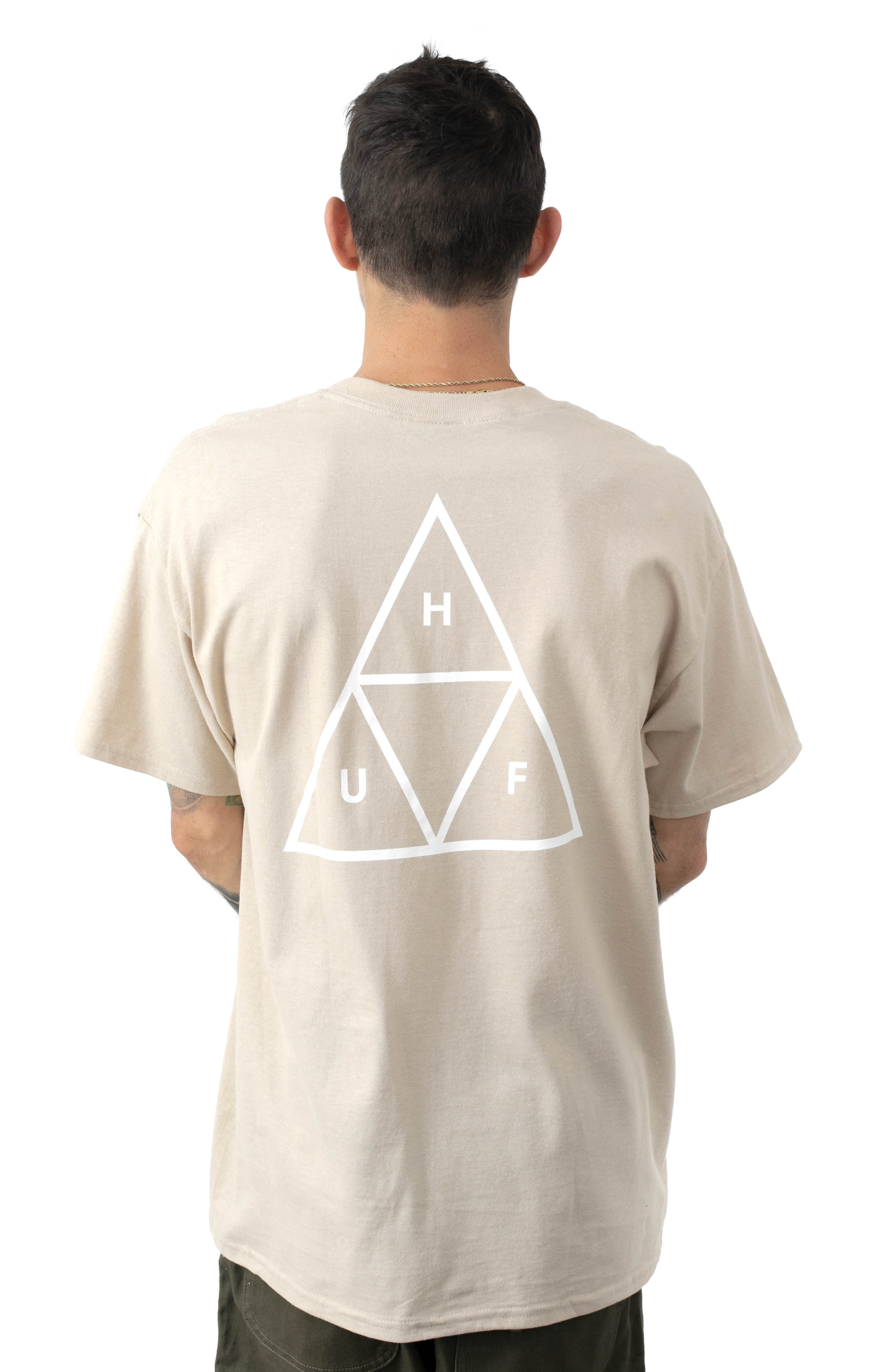 Essentials TT T-Shirt - Camel  3
