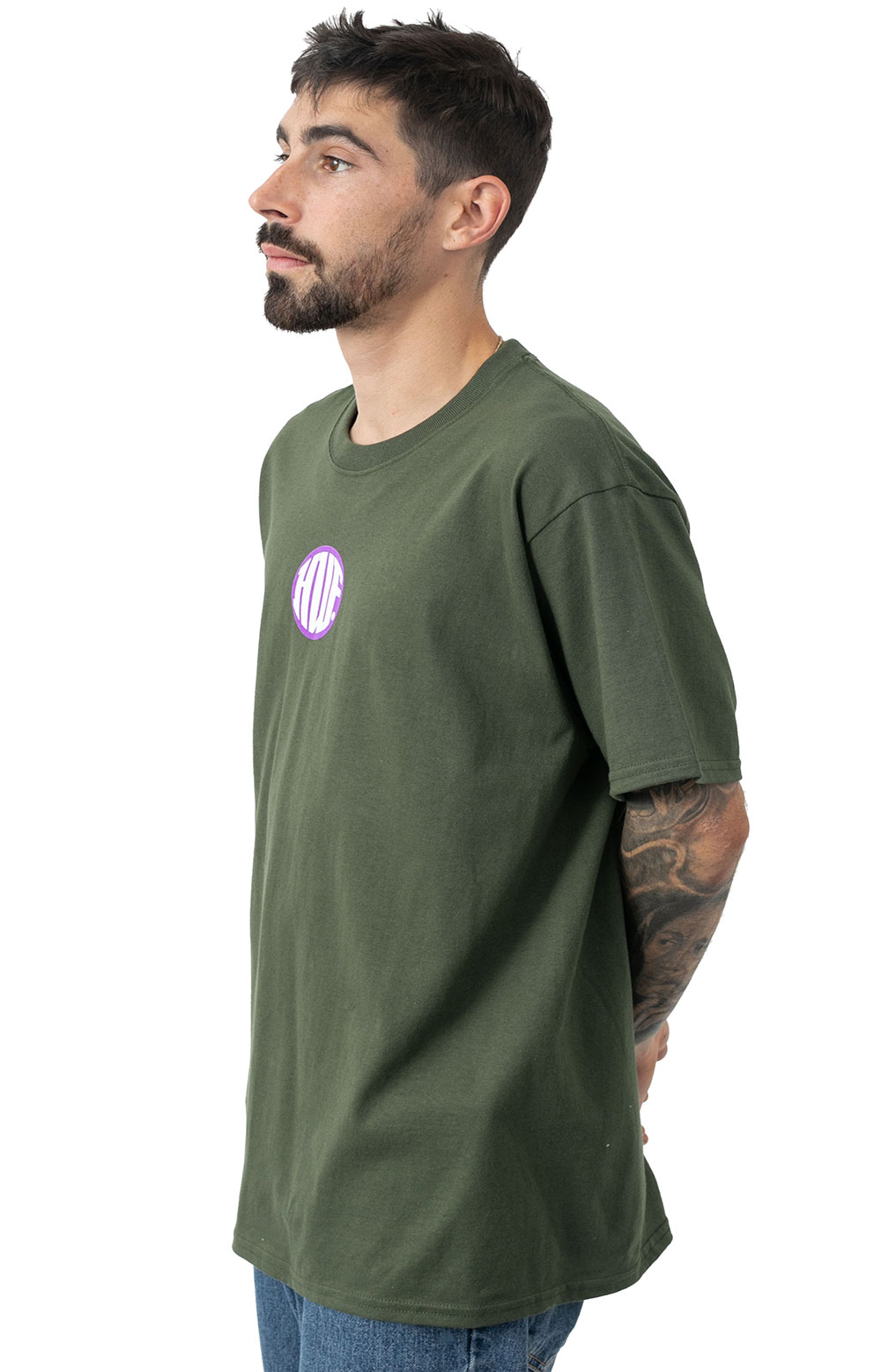 Hi Def T-Shirt - Military Green  3