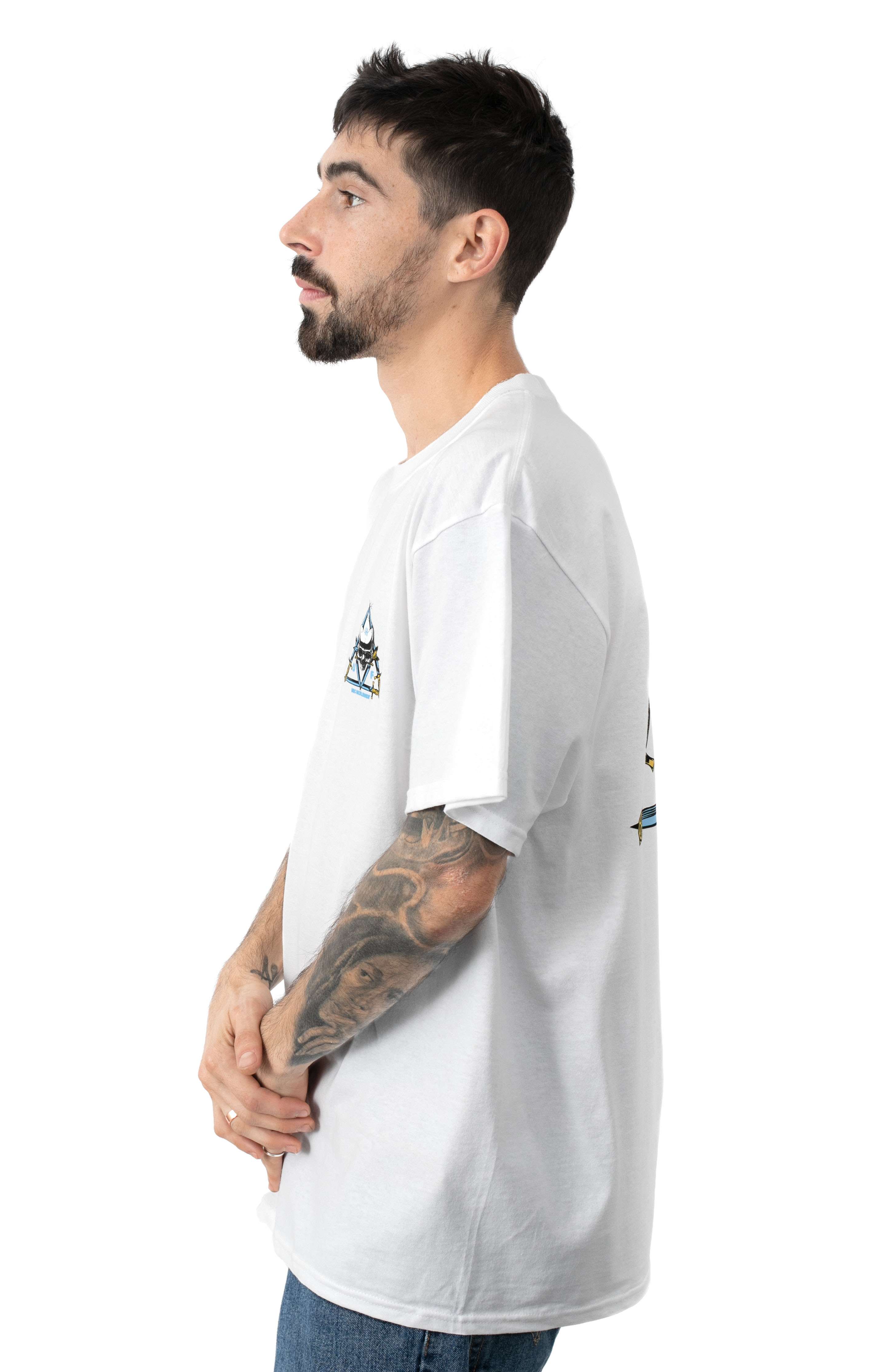 Blvd T-Shirt - White  3