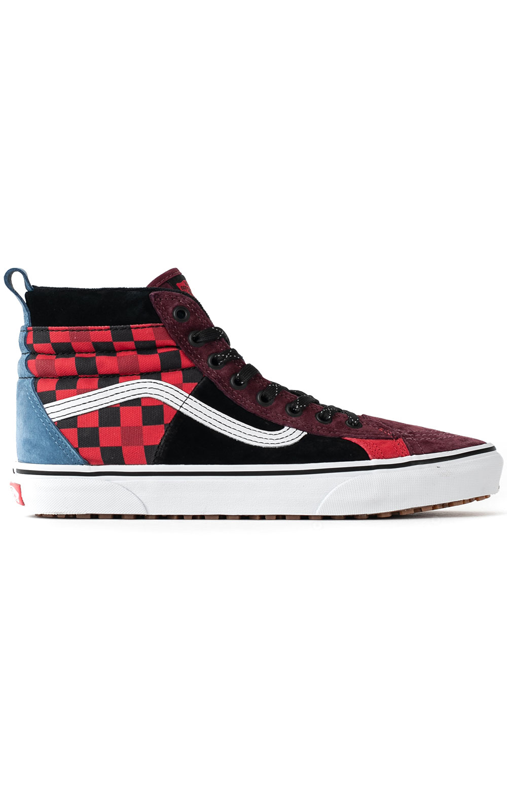 (DQ523A) Sk8-Hi 48 MTE DX Shoes - Multi/Red