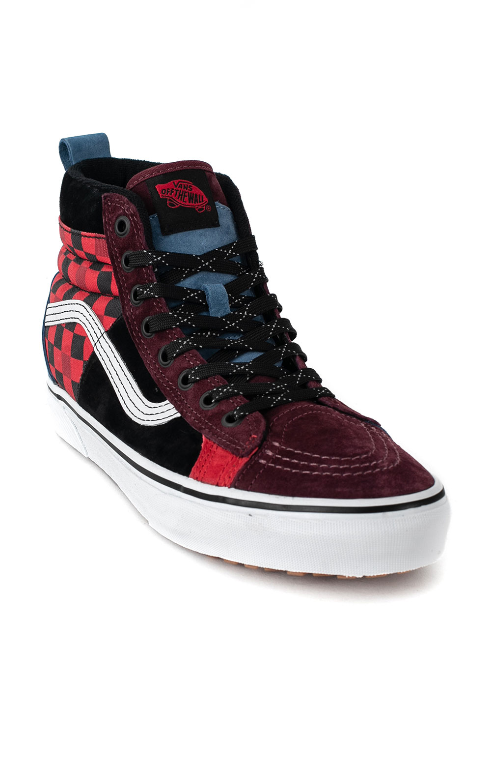 (DQ523A) Sk8-Hi 48 MTE DX Shoes - Multi/Red 3