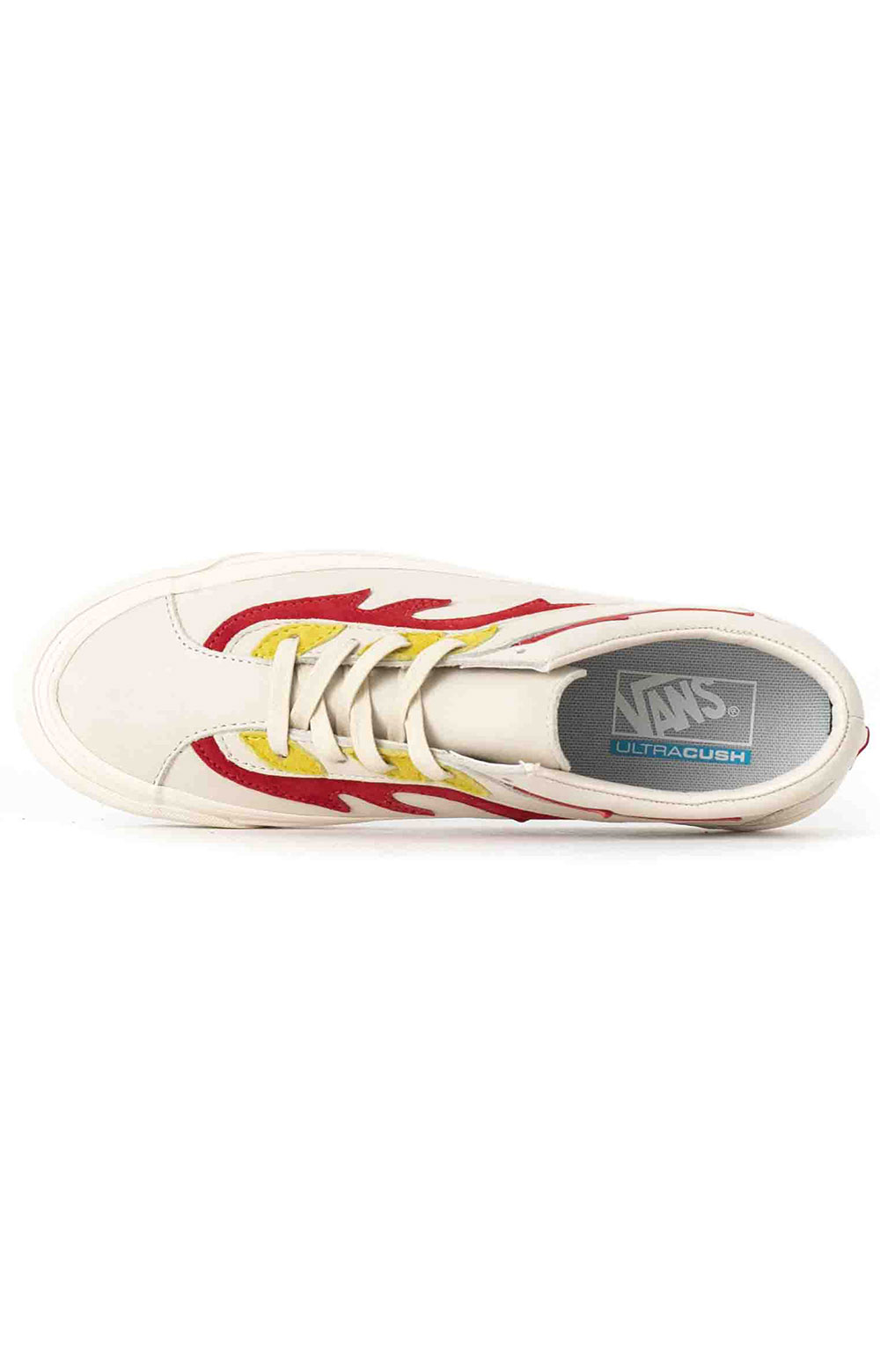 (UVR1BW) Flamethrower Bold Ni FT Shoes - Antique White/Red 2