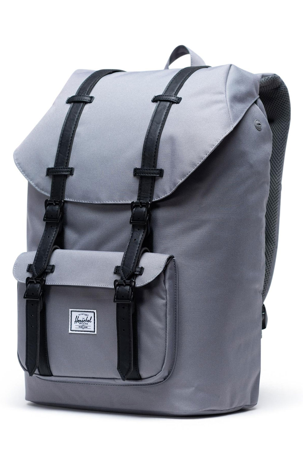 Little America Backpack - Grey/Black 3