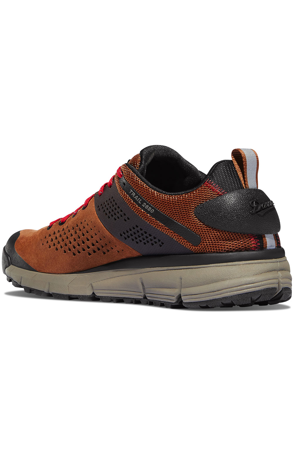 (61272) Trail 2650 Shoes - Brown/Red 2