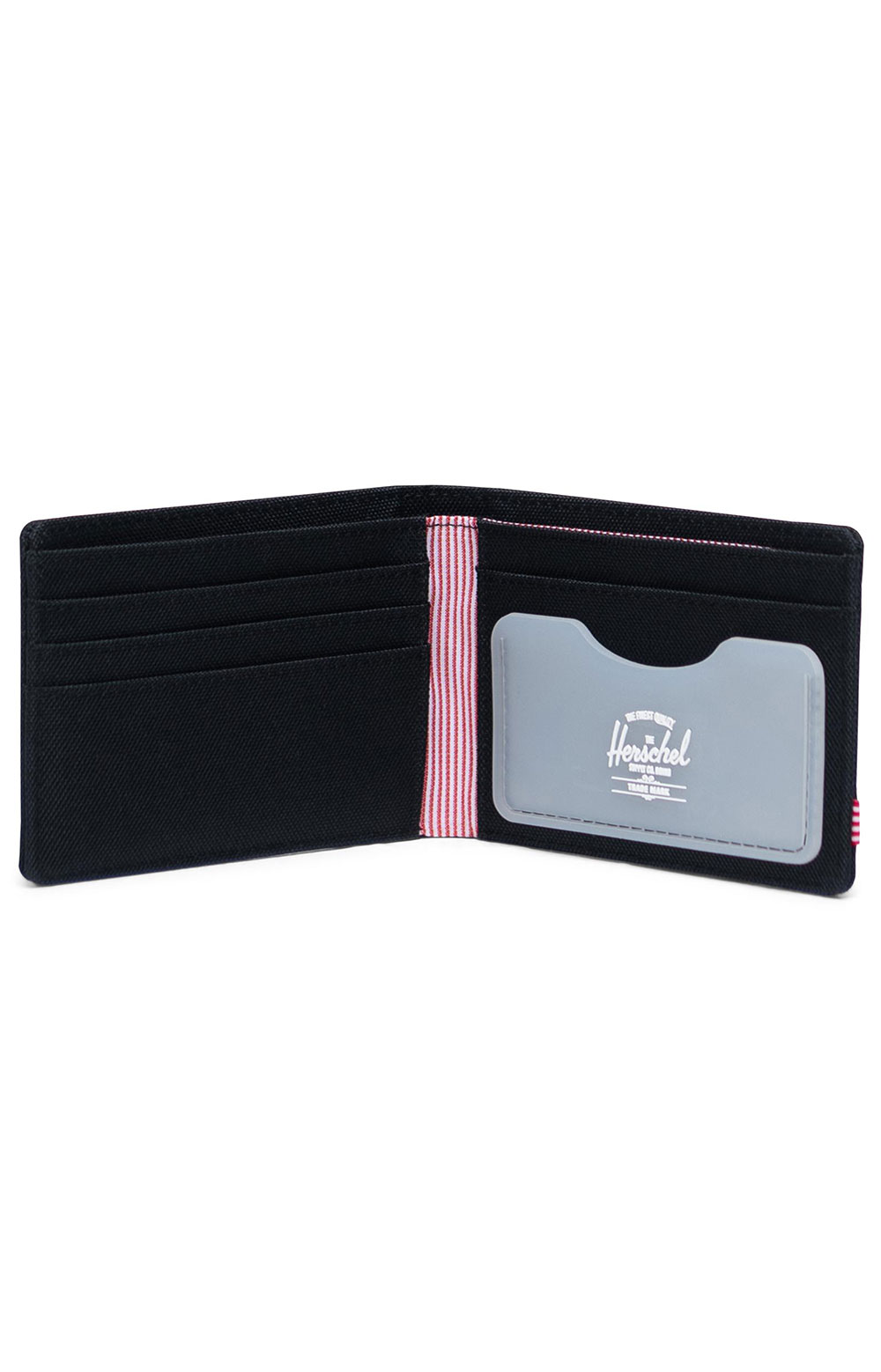 Roy Wallet - Black/Clear  3