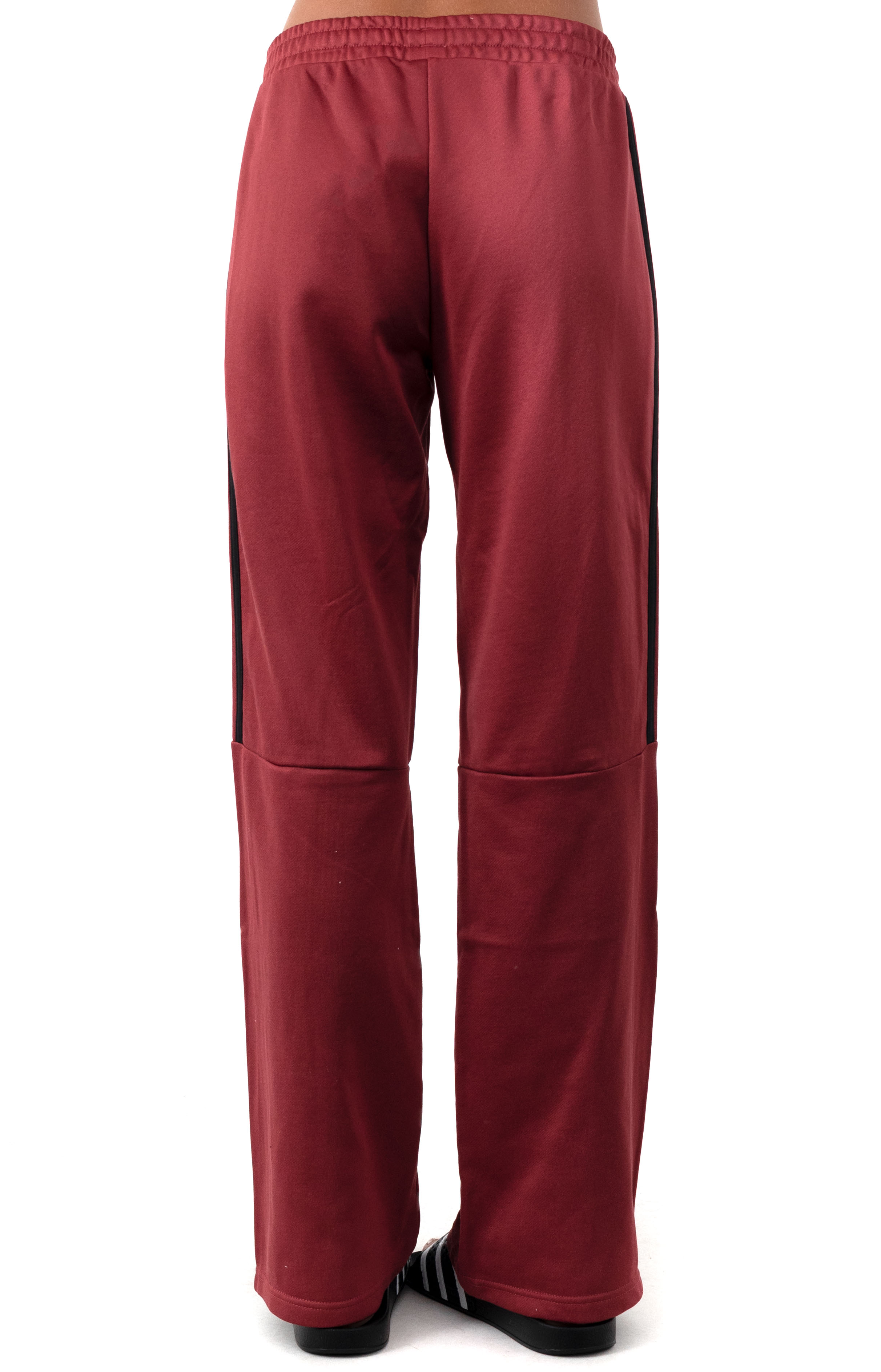 (GD9030) New Authentic Wide Leg Pants - Legacy Red 3