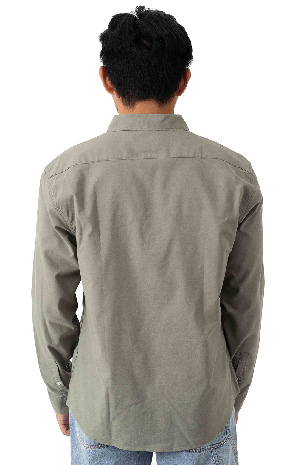 That'll Do Stretch Button-Up Shirt - Aloe 3