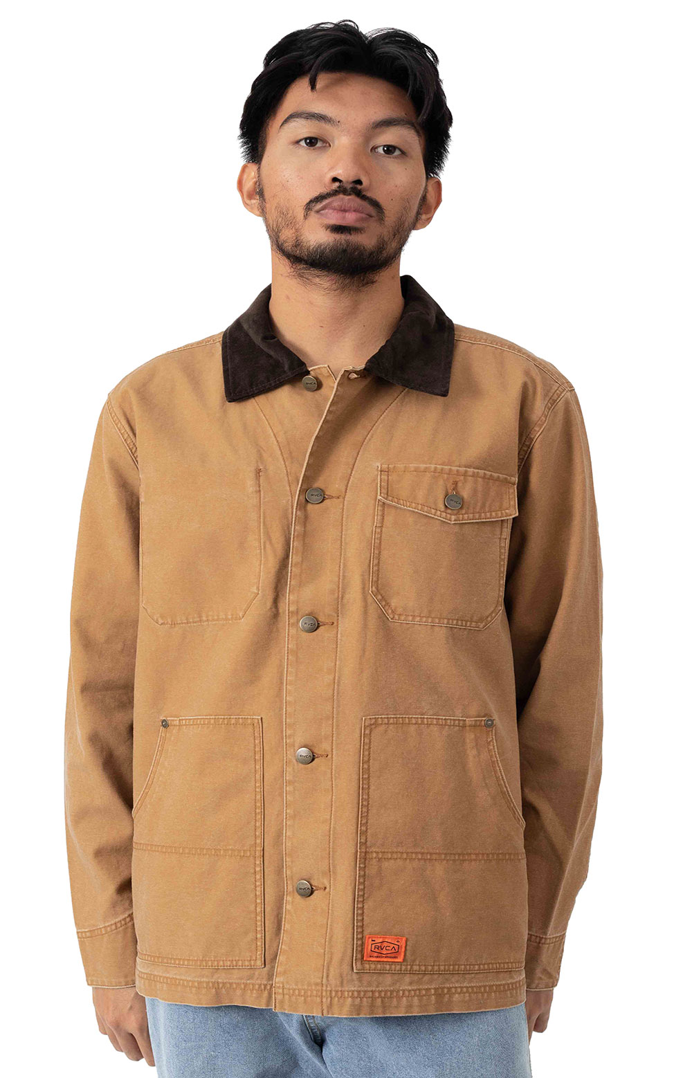 Chainmail Chore Jacket - Camel