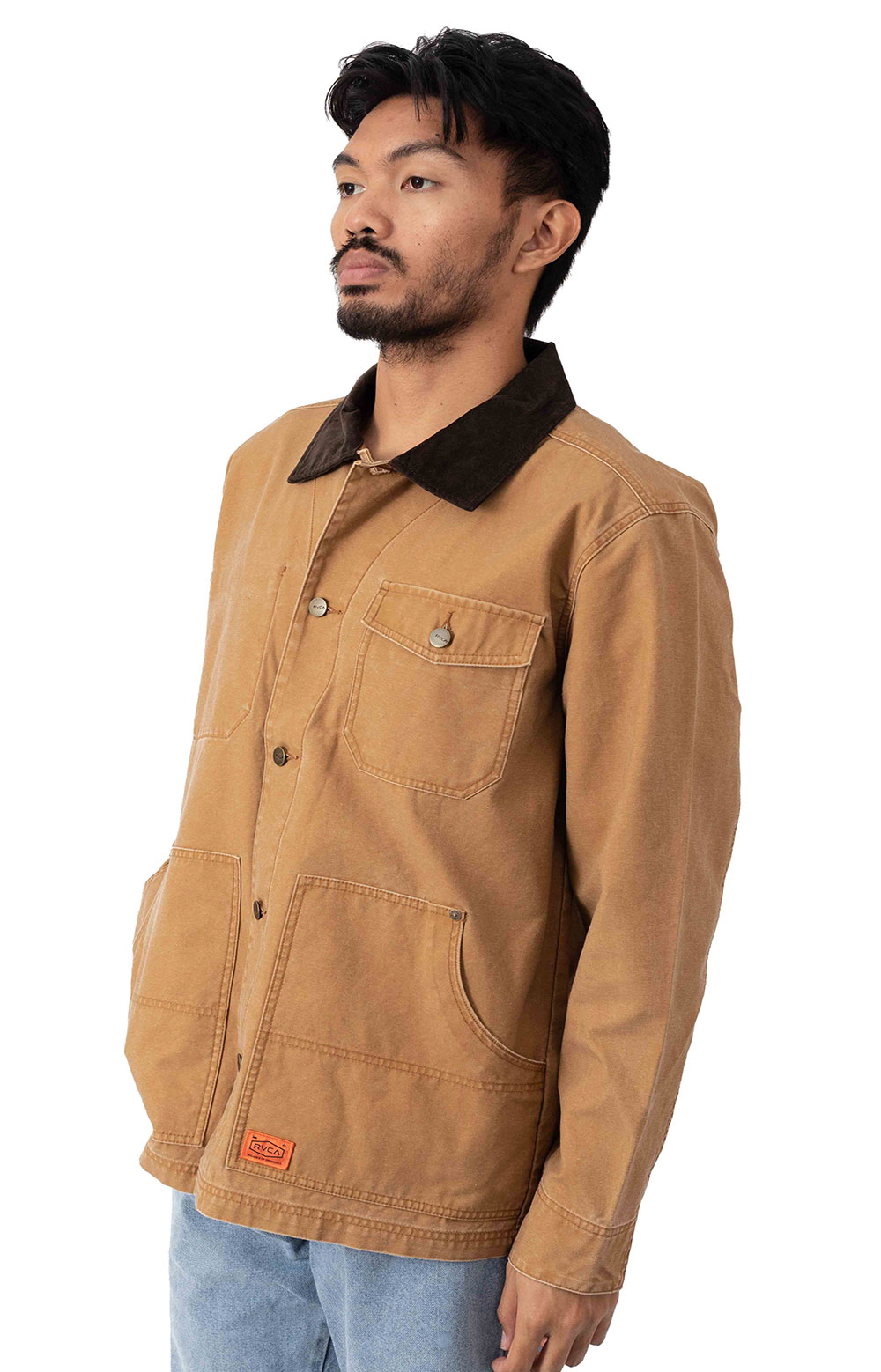 Chainmail Chore Jacket - Camel  2