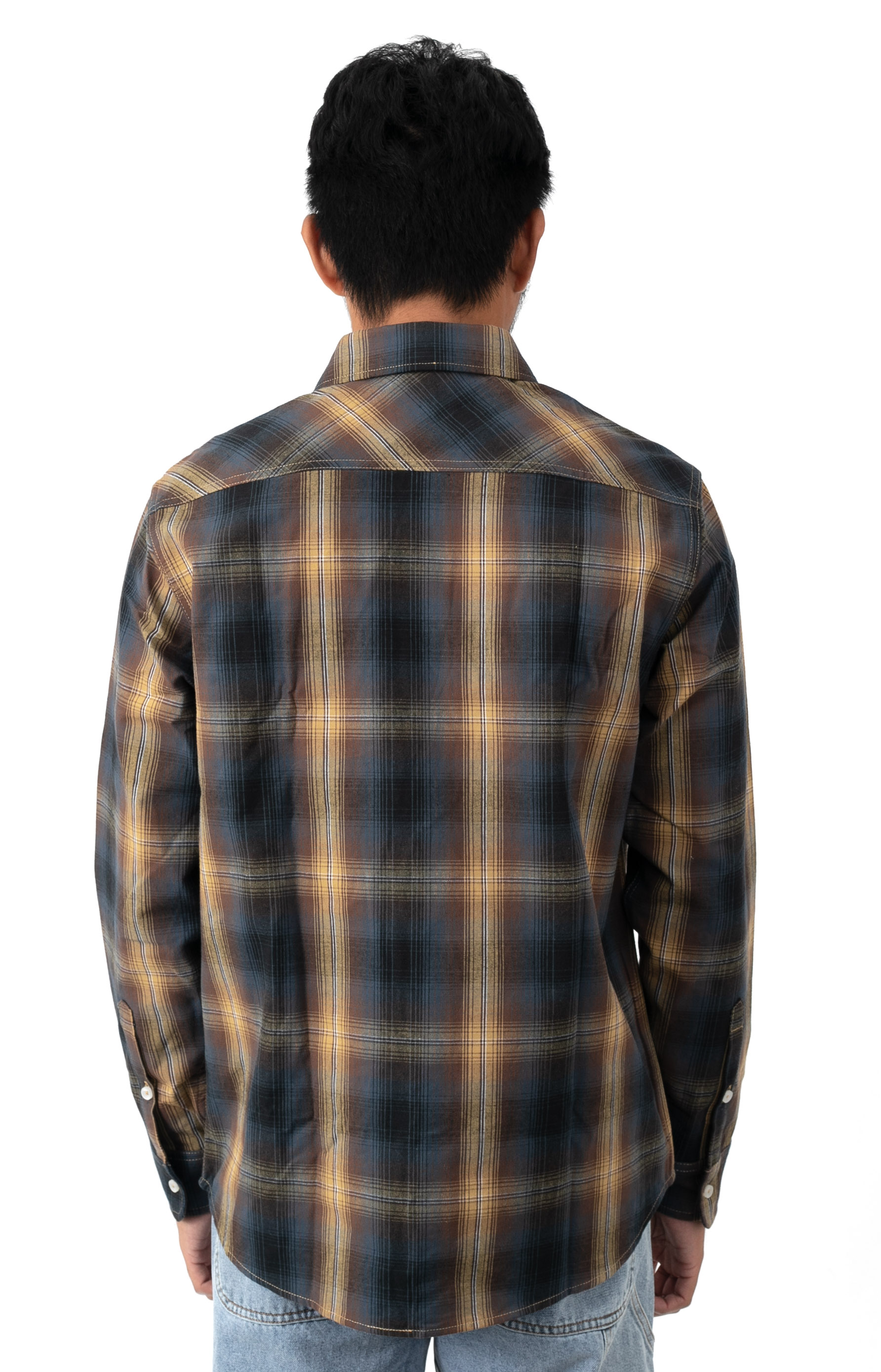 Sanford Button-Up Shirt - Rich Brown  3