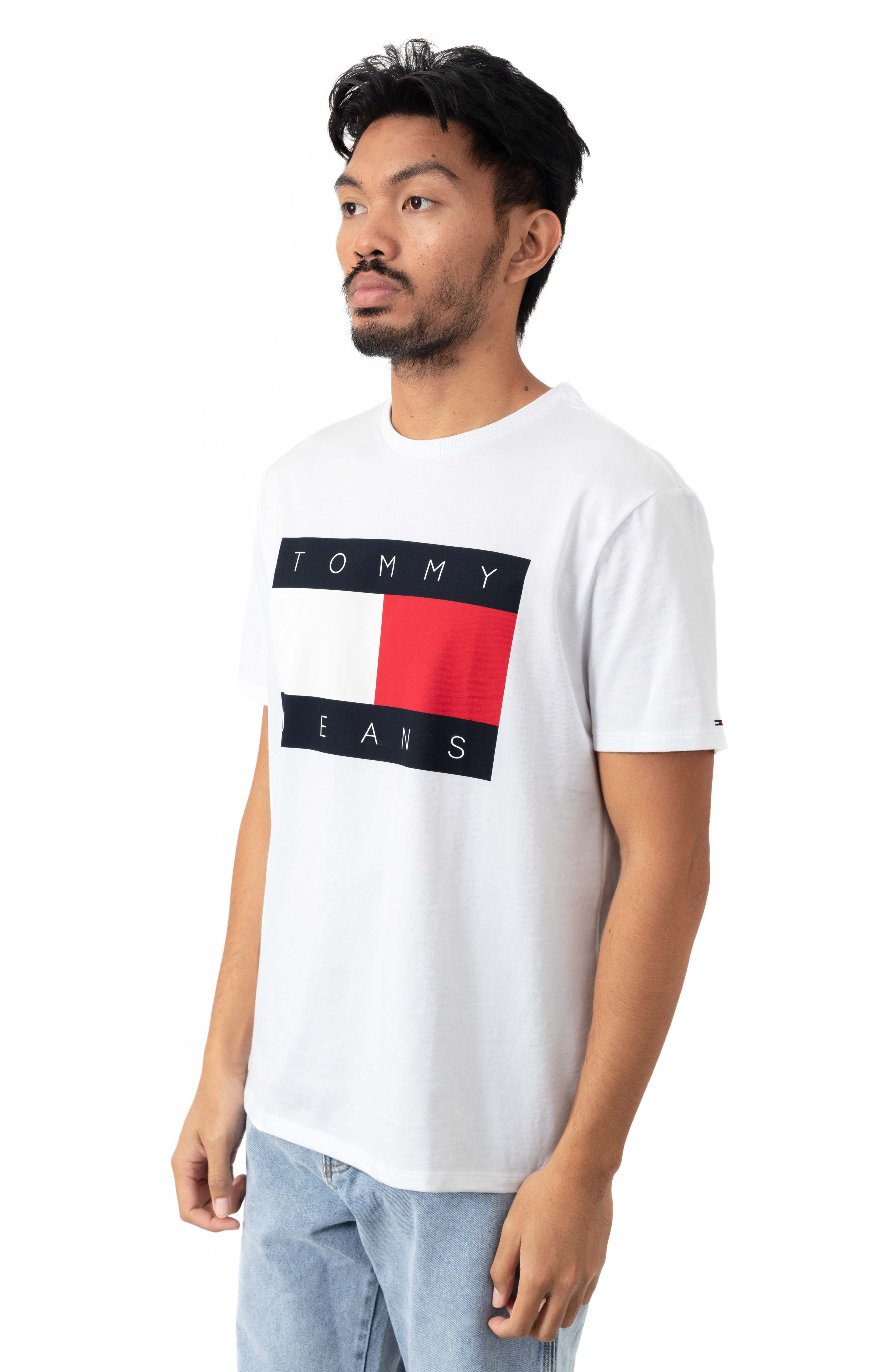 Flag T-Shirt - White  2