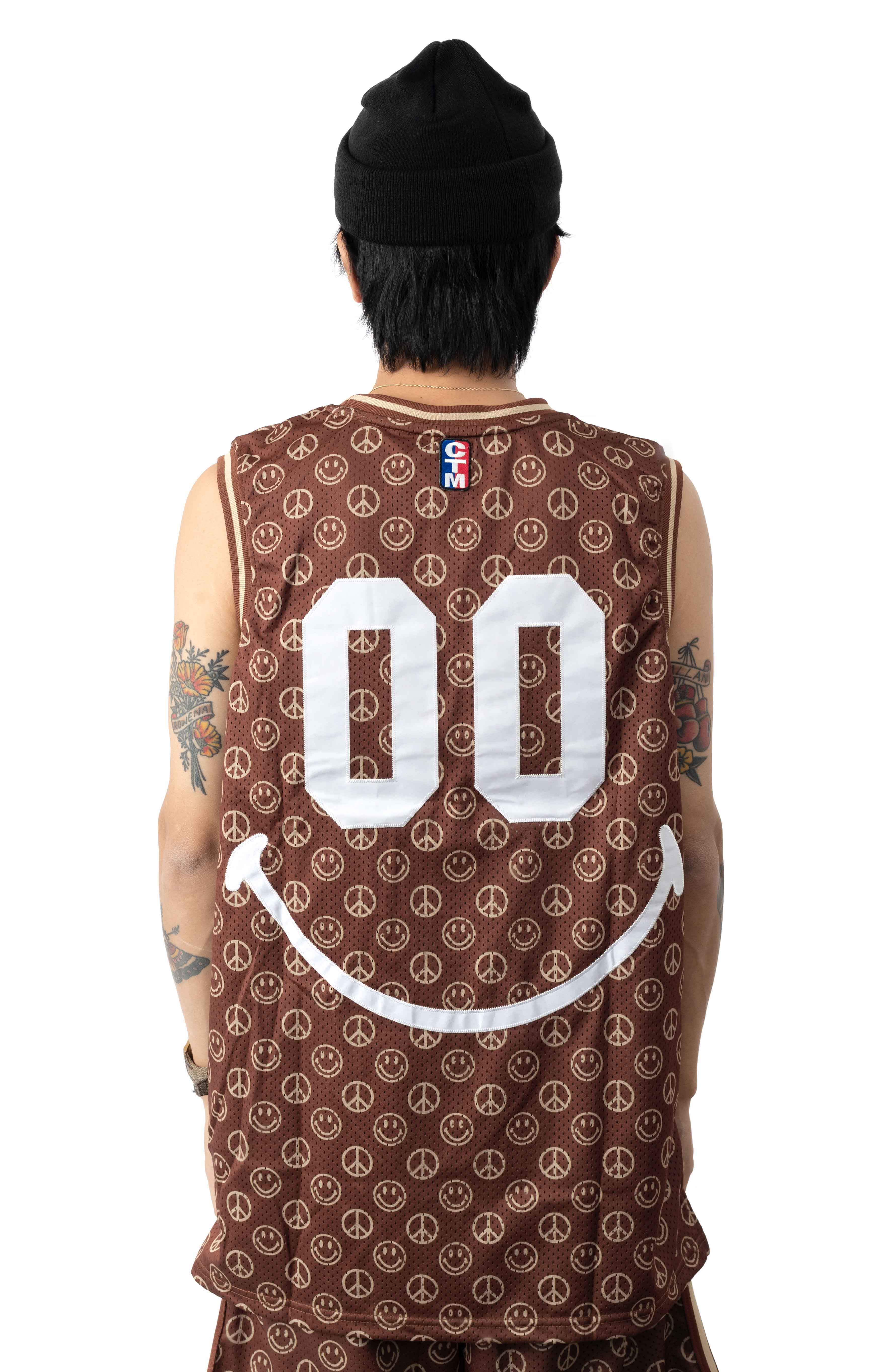 Smiley Cabana Basketball Jersey 3