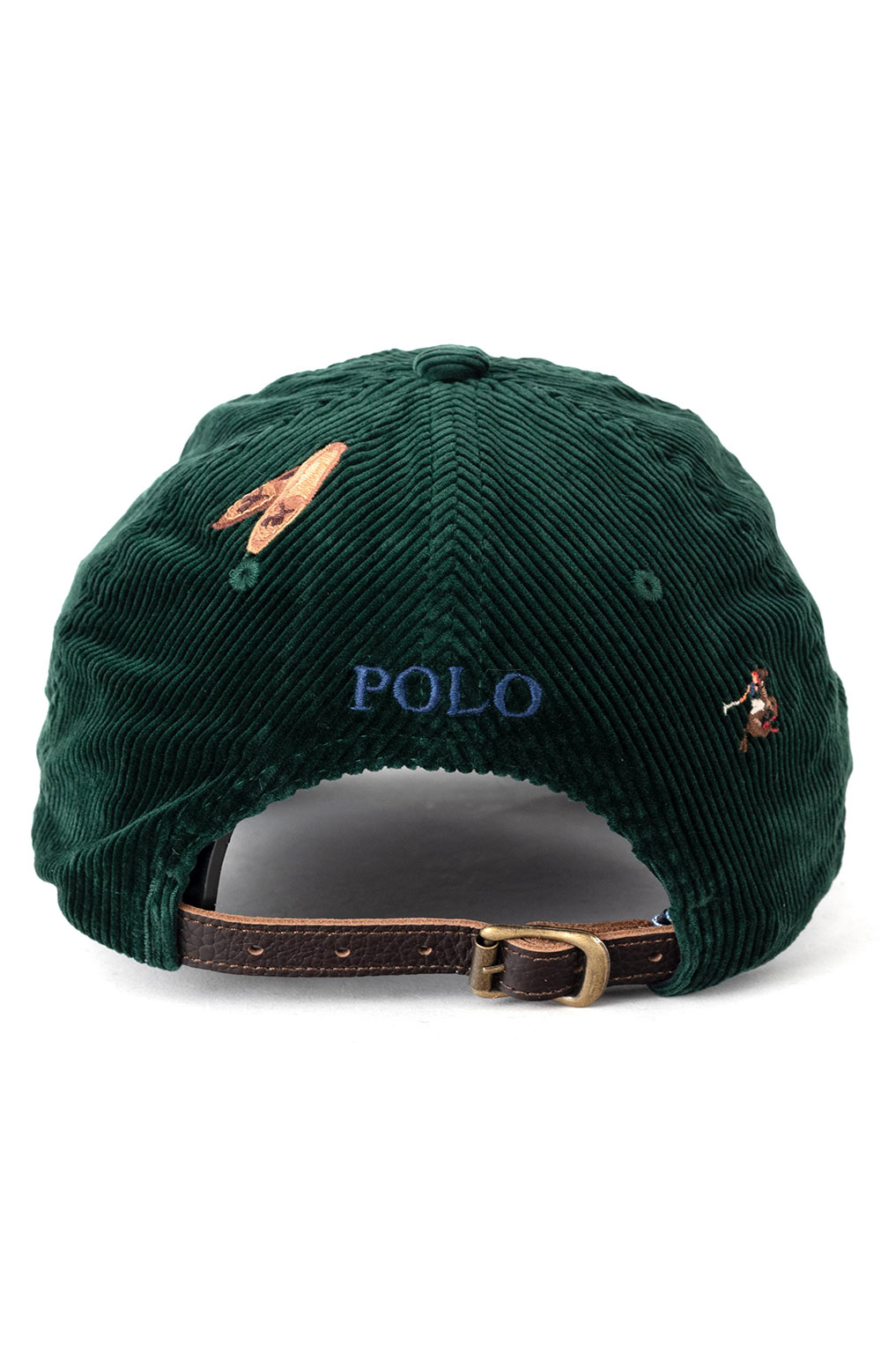 Corduroy Classic Sports Cap - Green  3