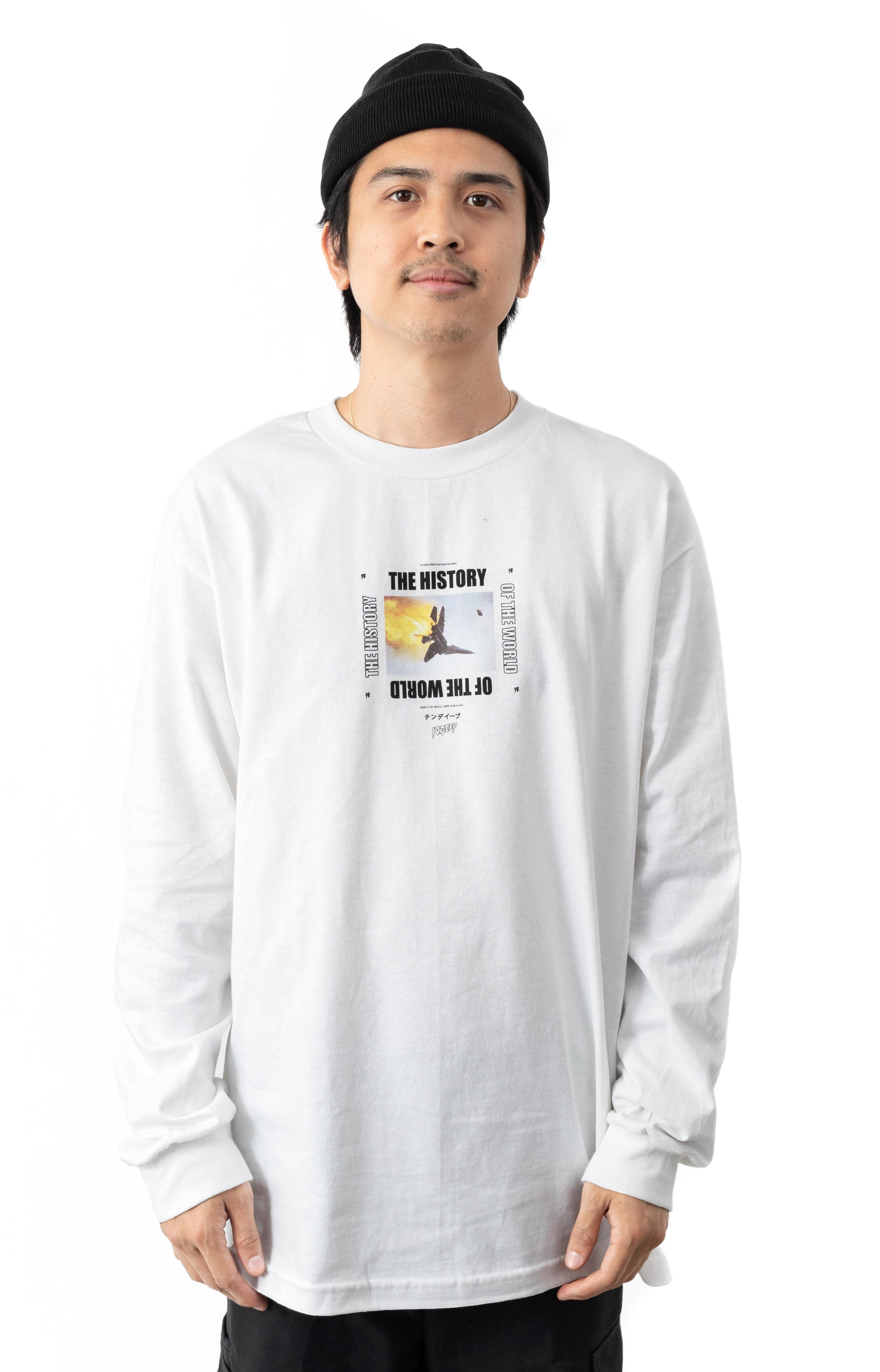 History Of The World L/S Shirt - White