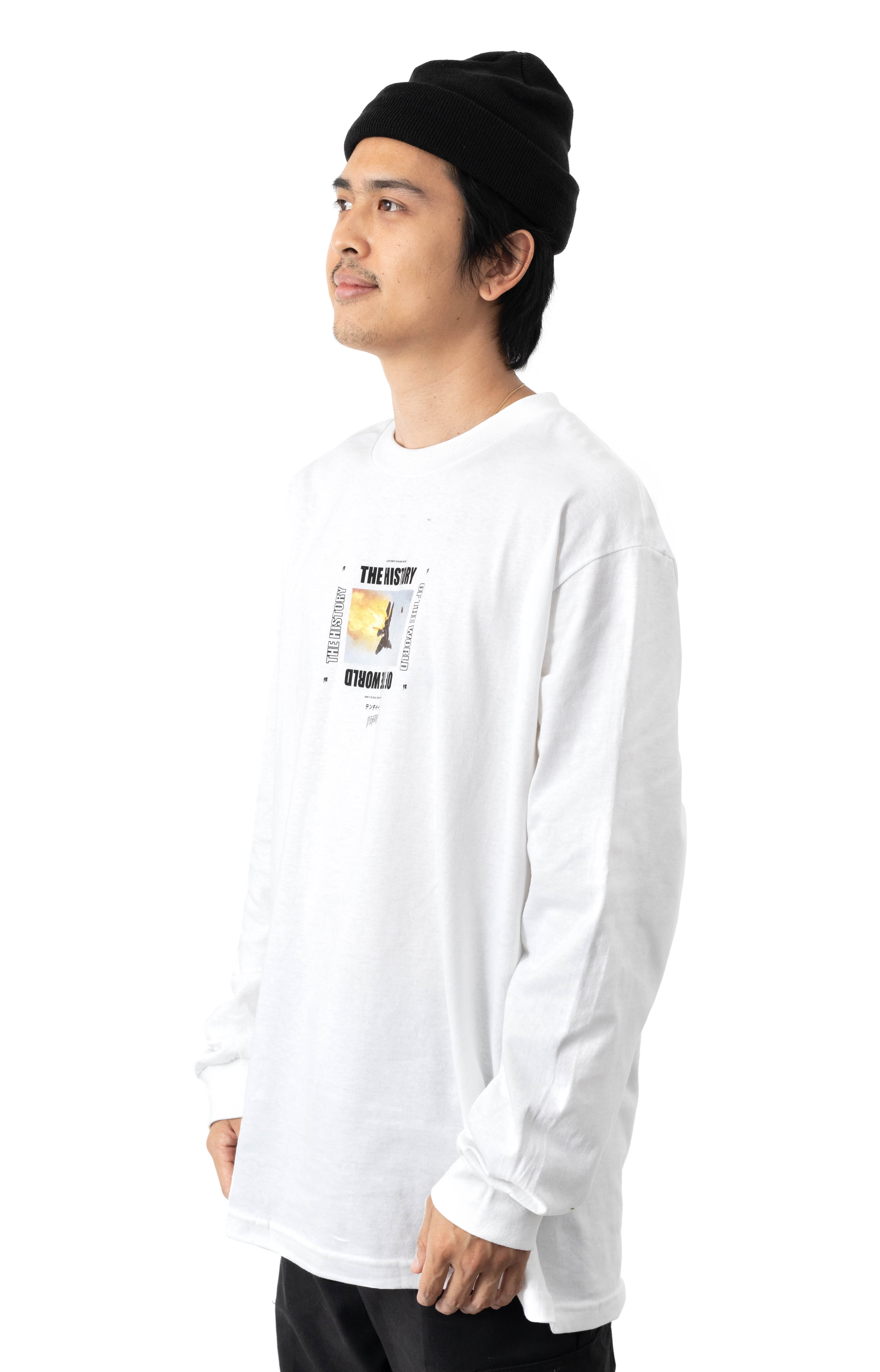 History Of The World L/S Shirt - White  2