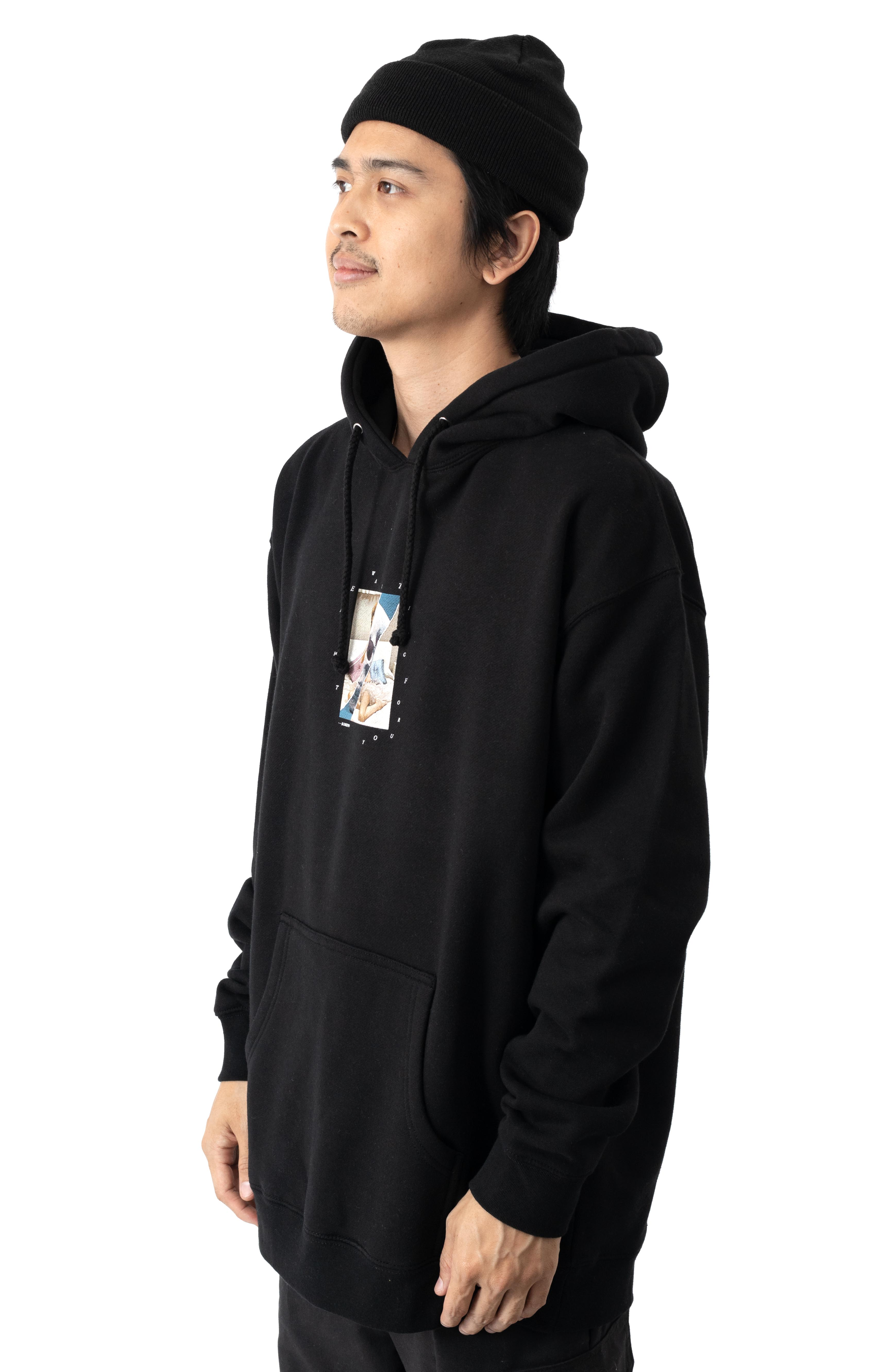 Love And Death Pullover Hoodie - Black 2