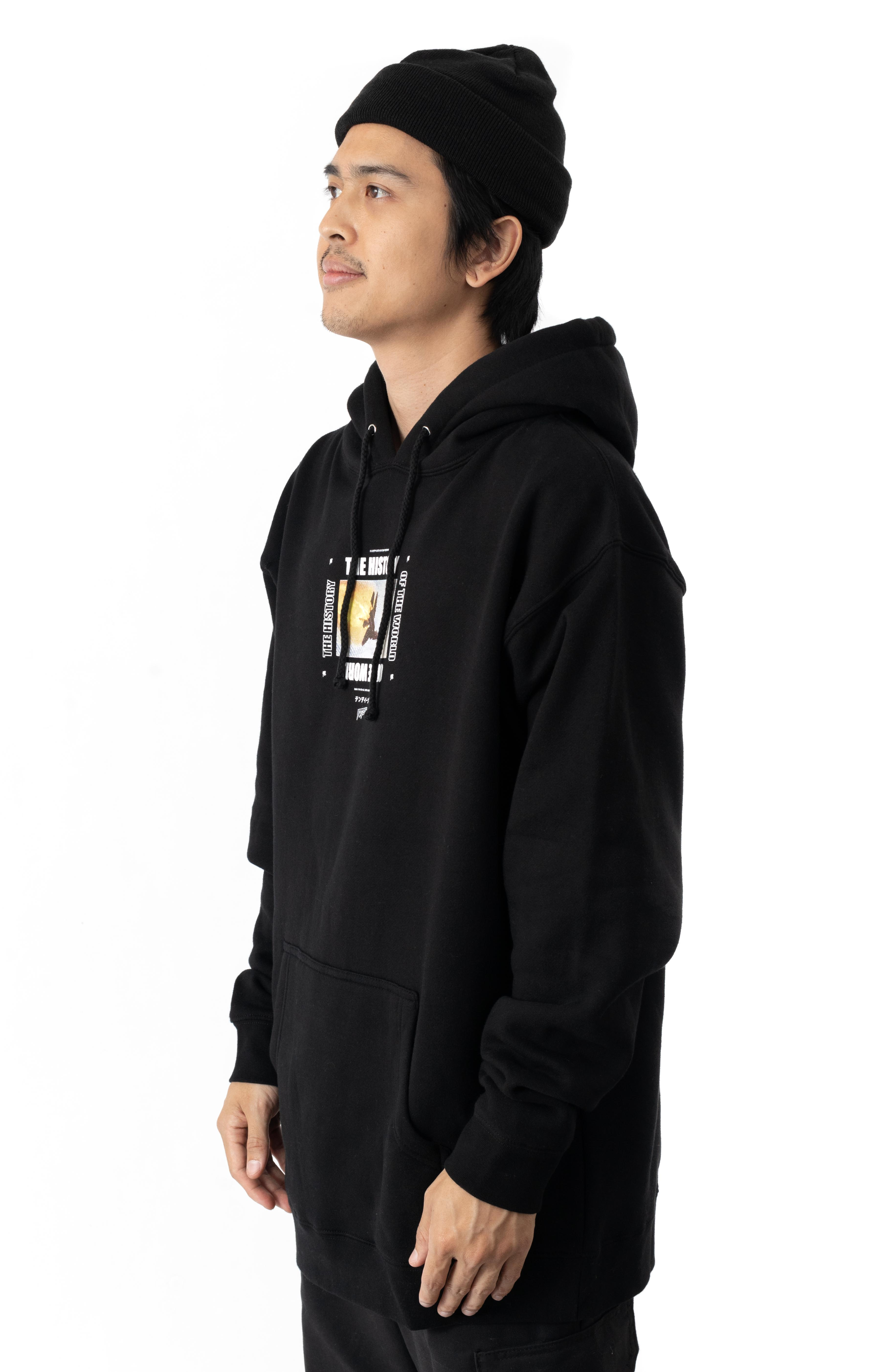 History Of The World Pullover Hoodie - Black 3