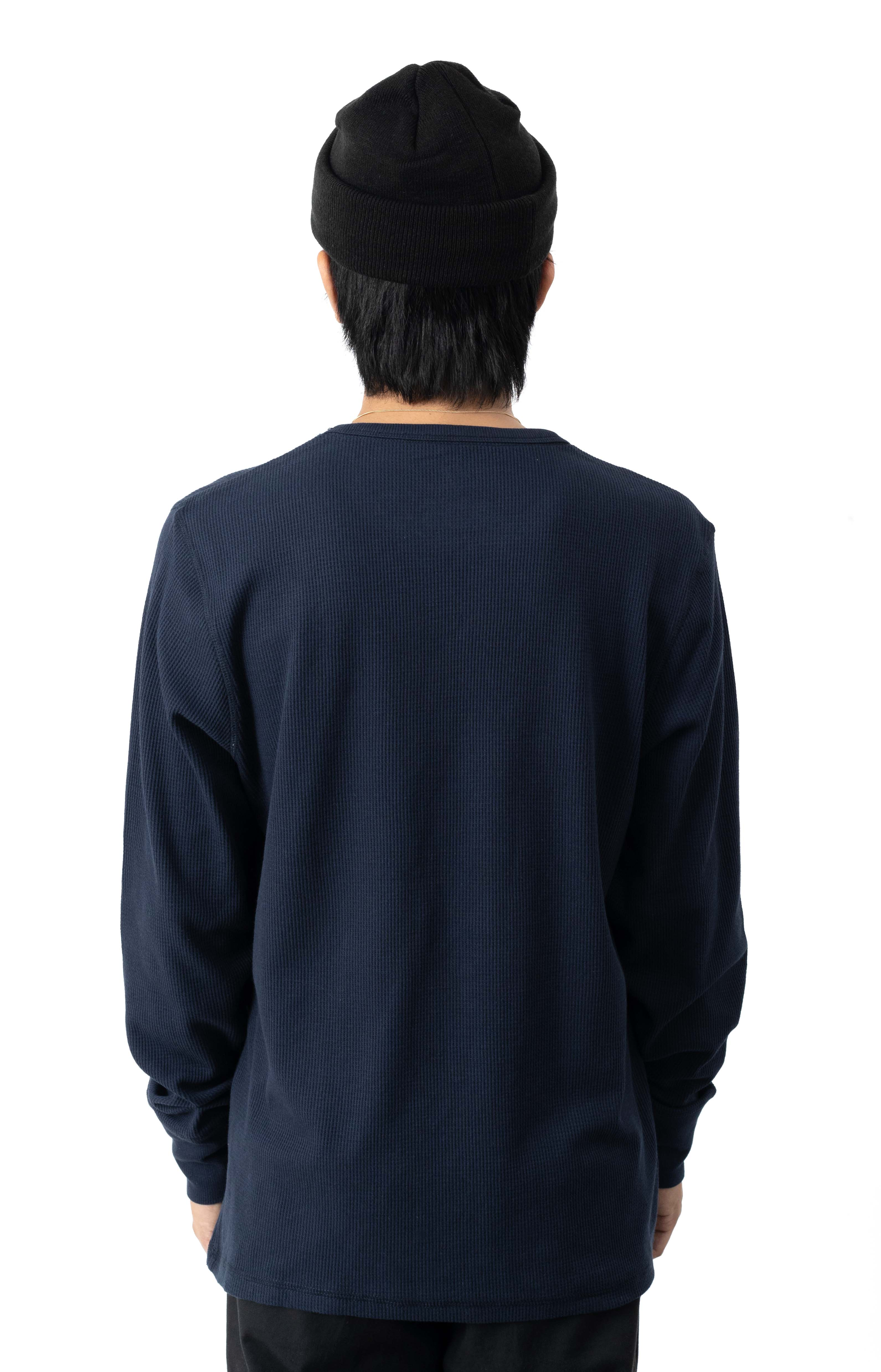 Thermal L/S Shirt - Dark Navy  3