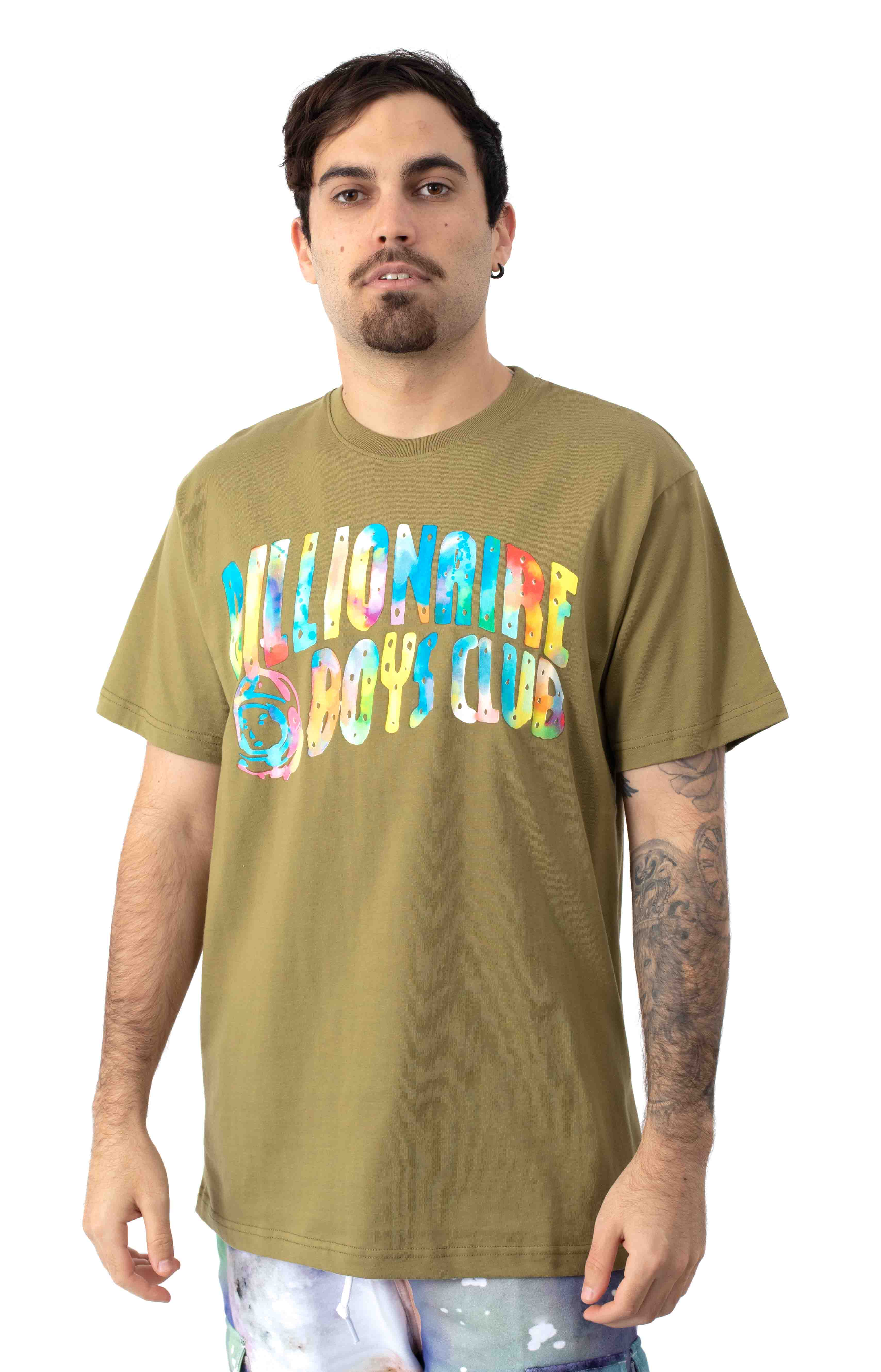 BB Watercolor T-Shirt - Olive Drab 2