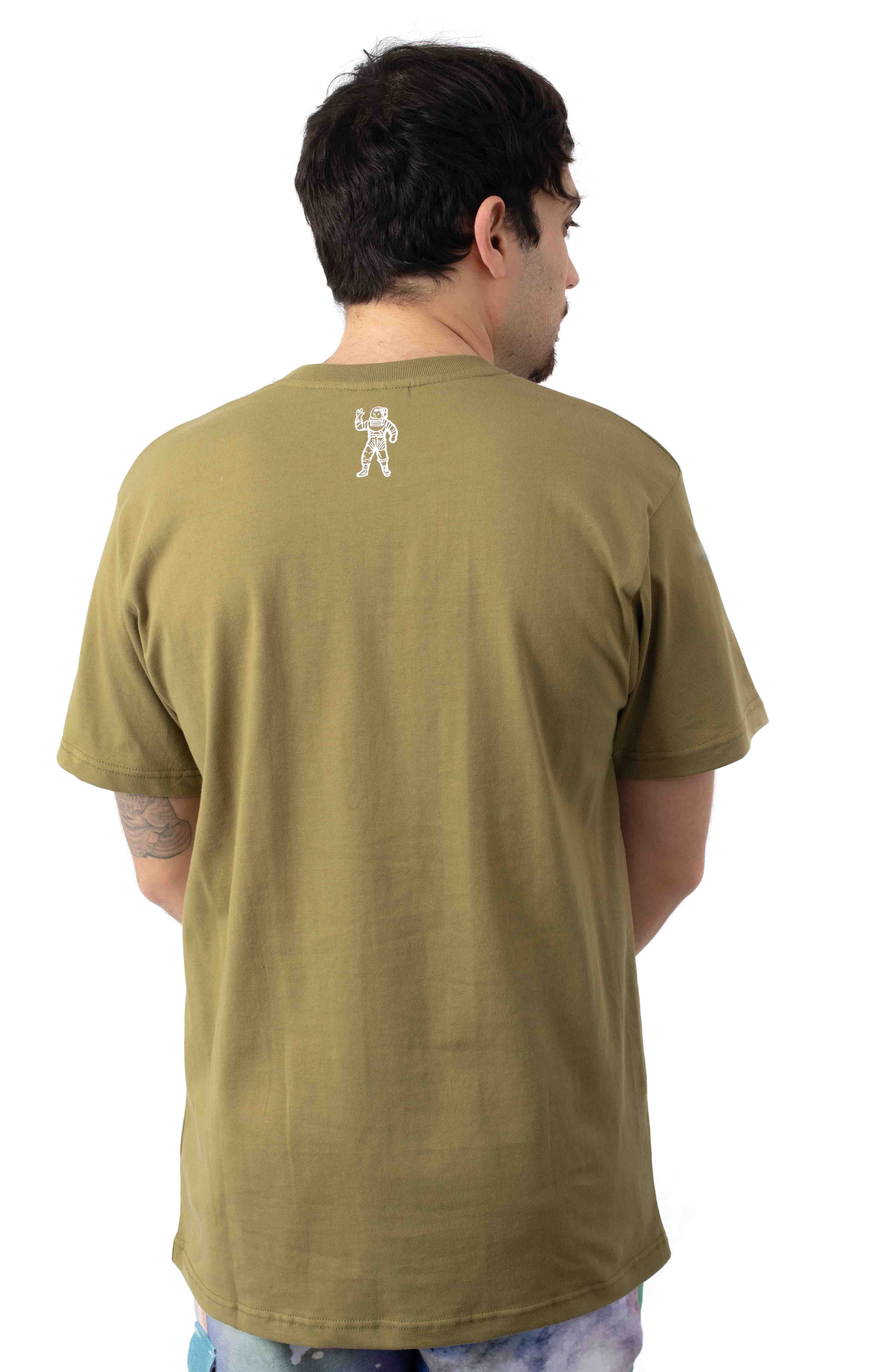 BB Watercolor T-Shirt - Olive Drab 3