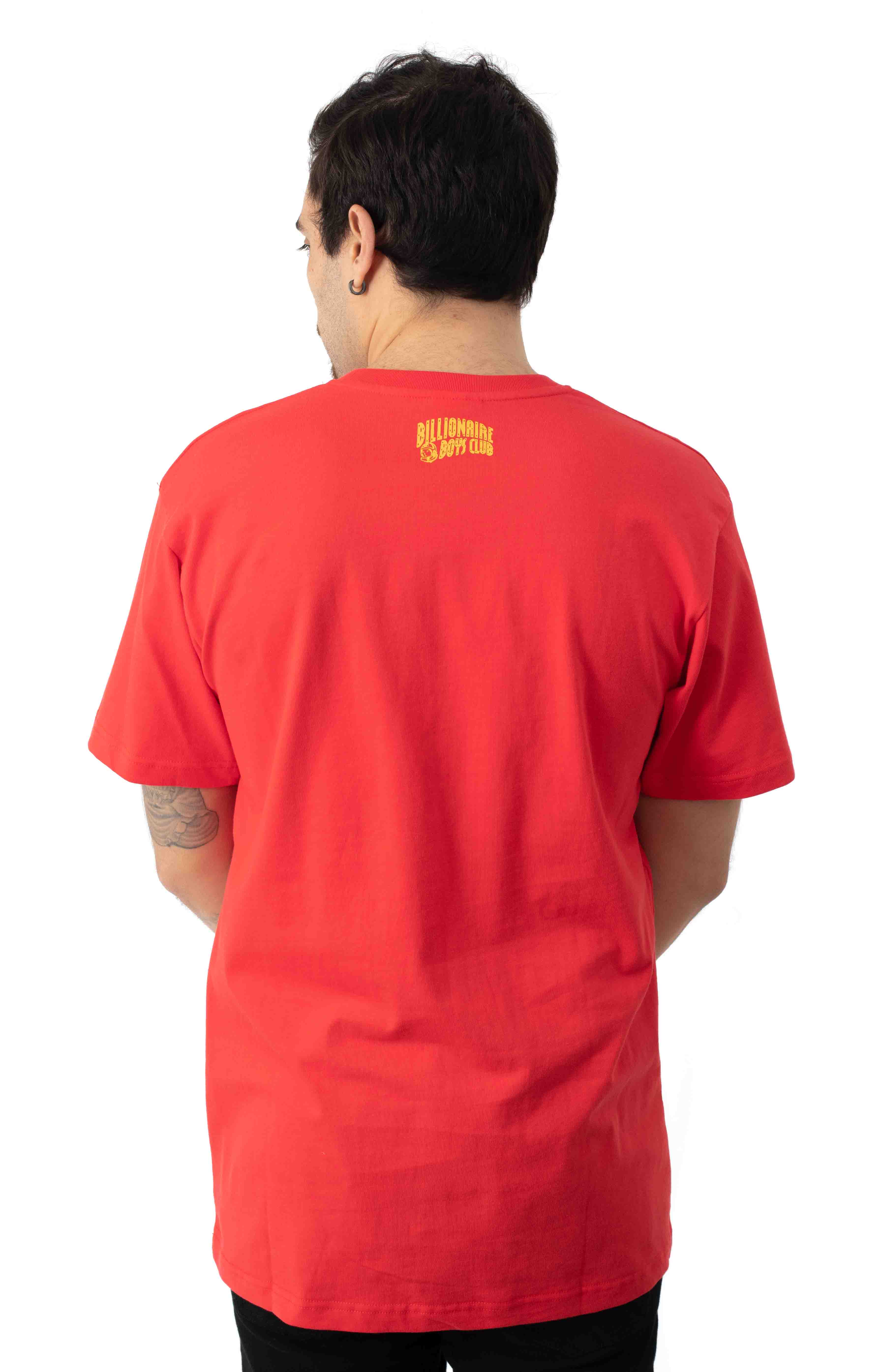 BB Static T-Shirt - High Risk Red 3