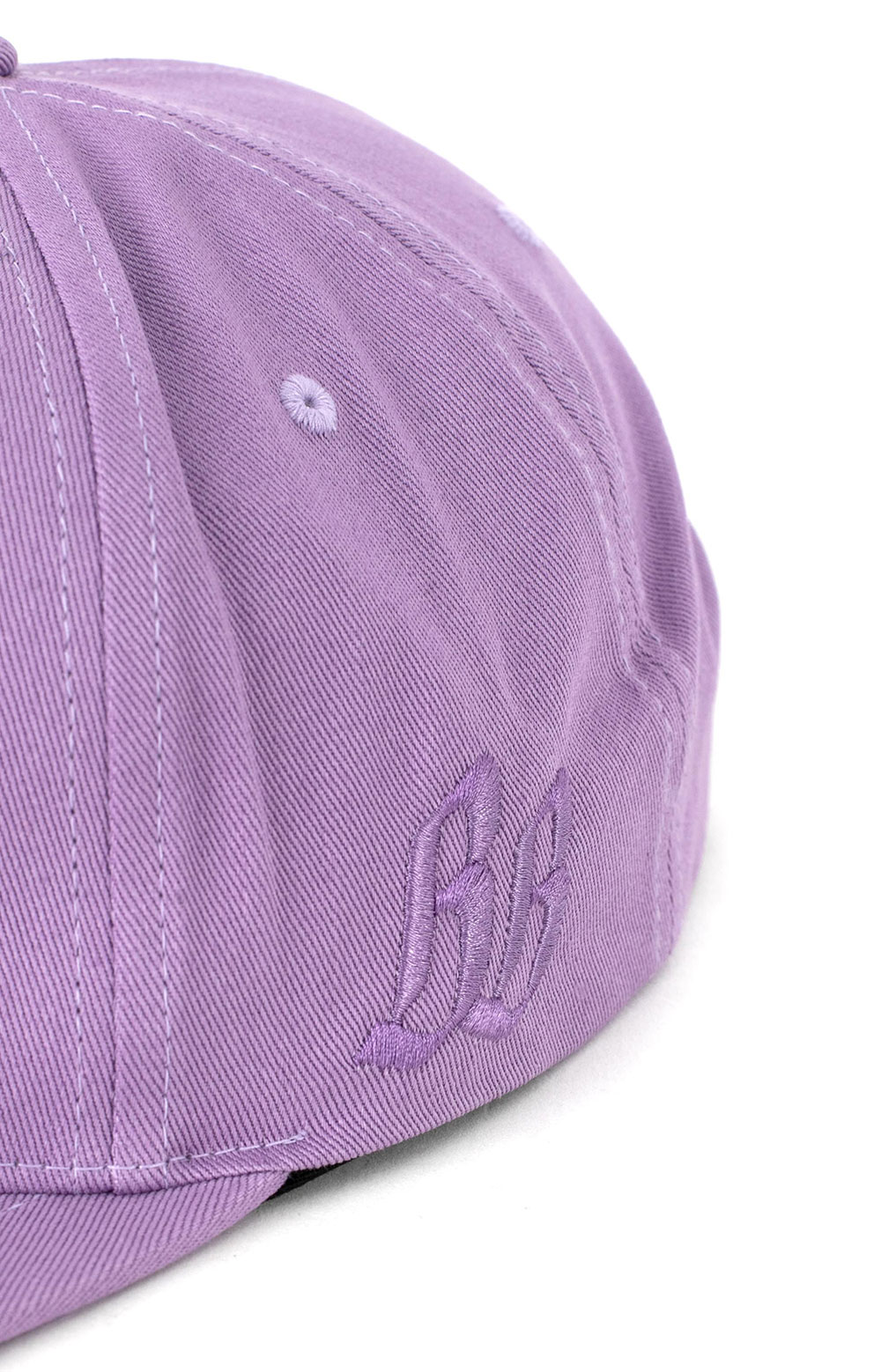 BB Origins Panel Snap-Back Hat -- Violet  4