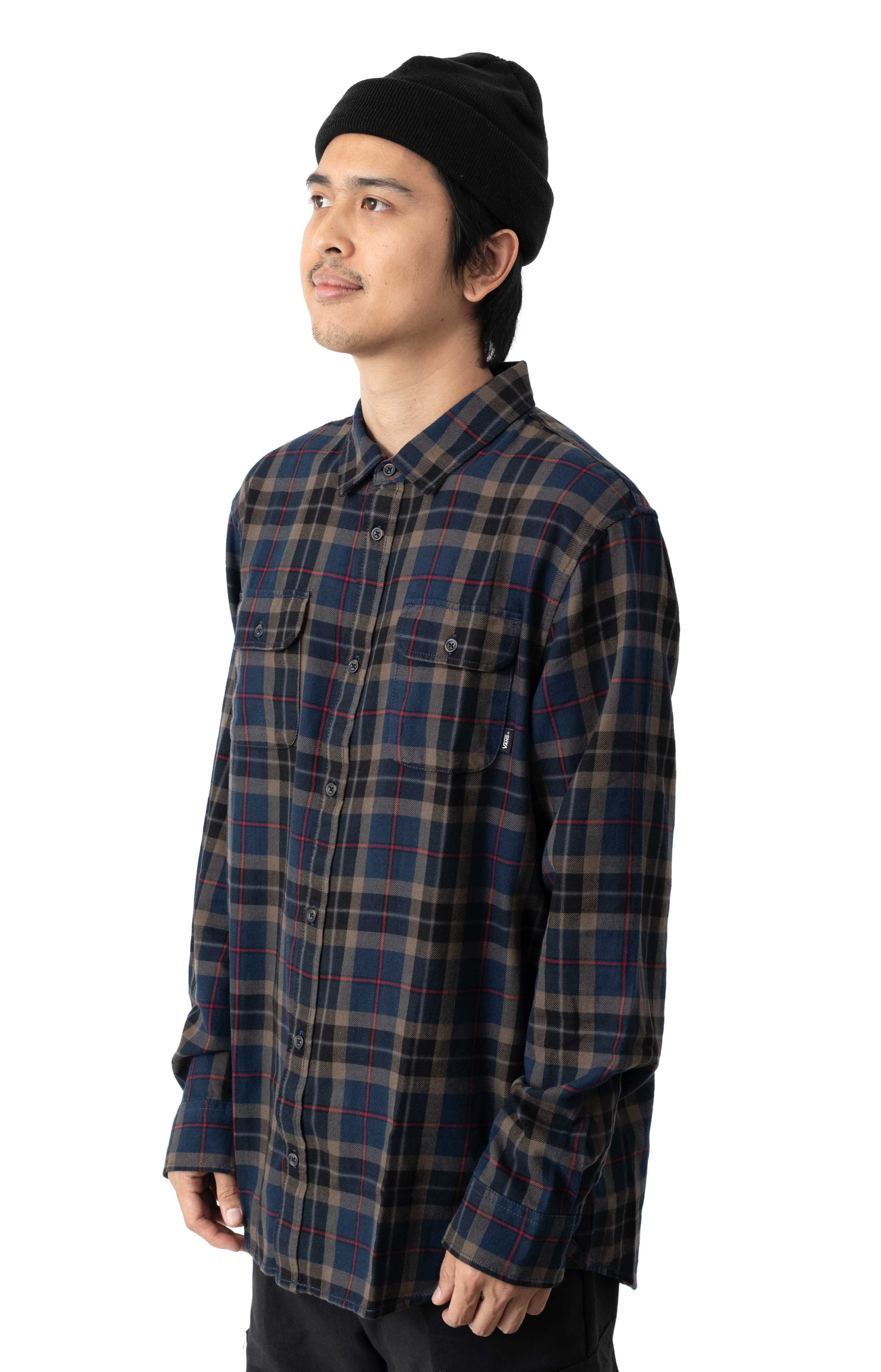 Sycamore Button-Up Shirt - Dress Blues/Canteen  2