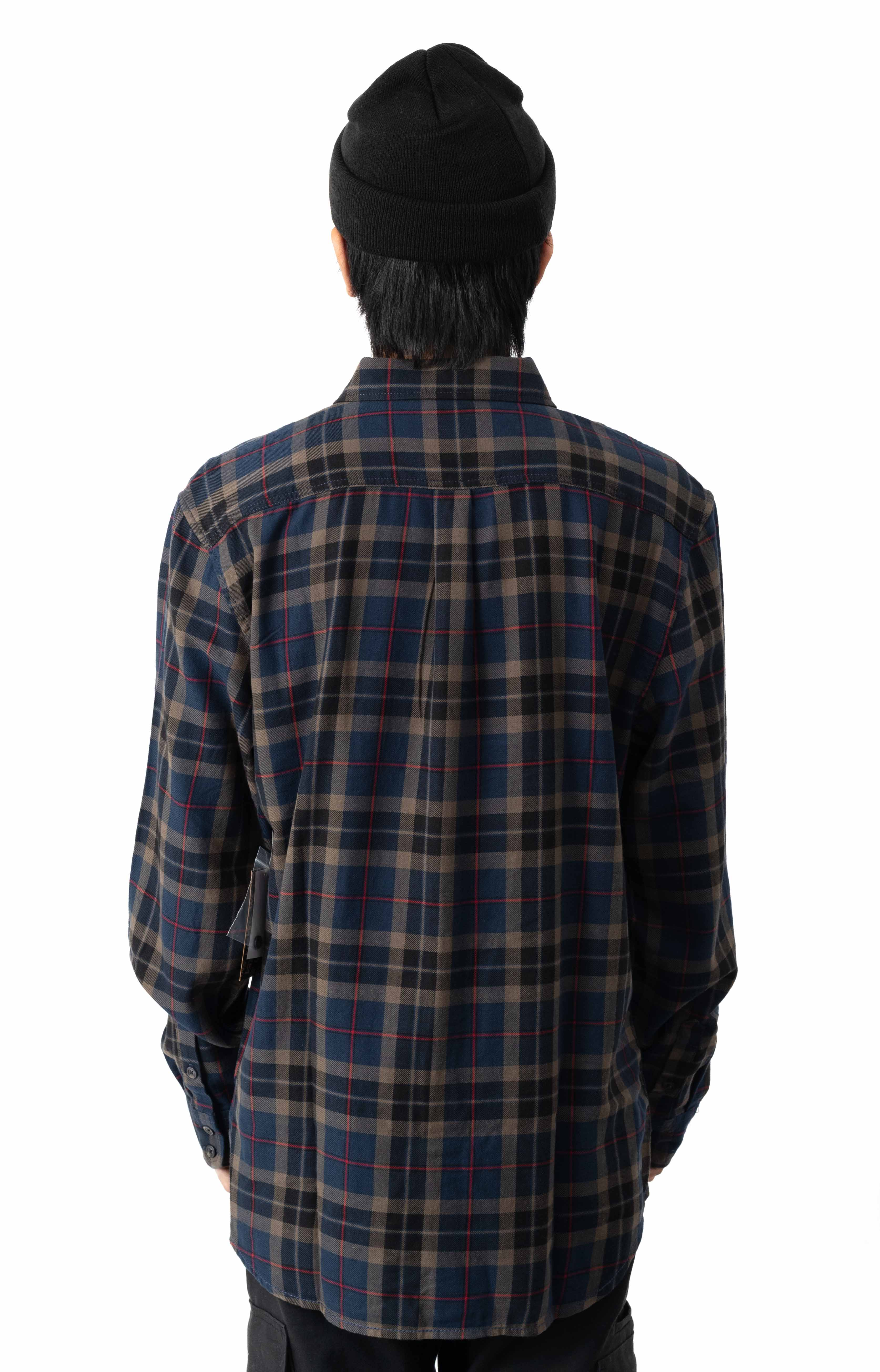 Sycamore Button-Up Shirt - Dress Blues/Canteen  3