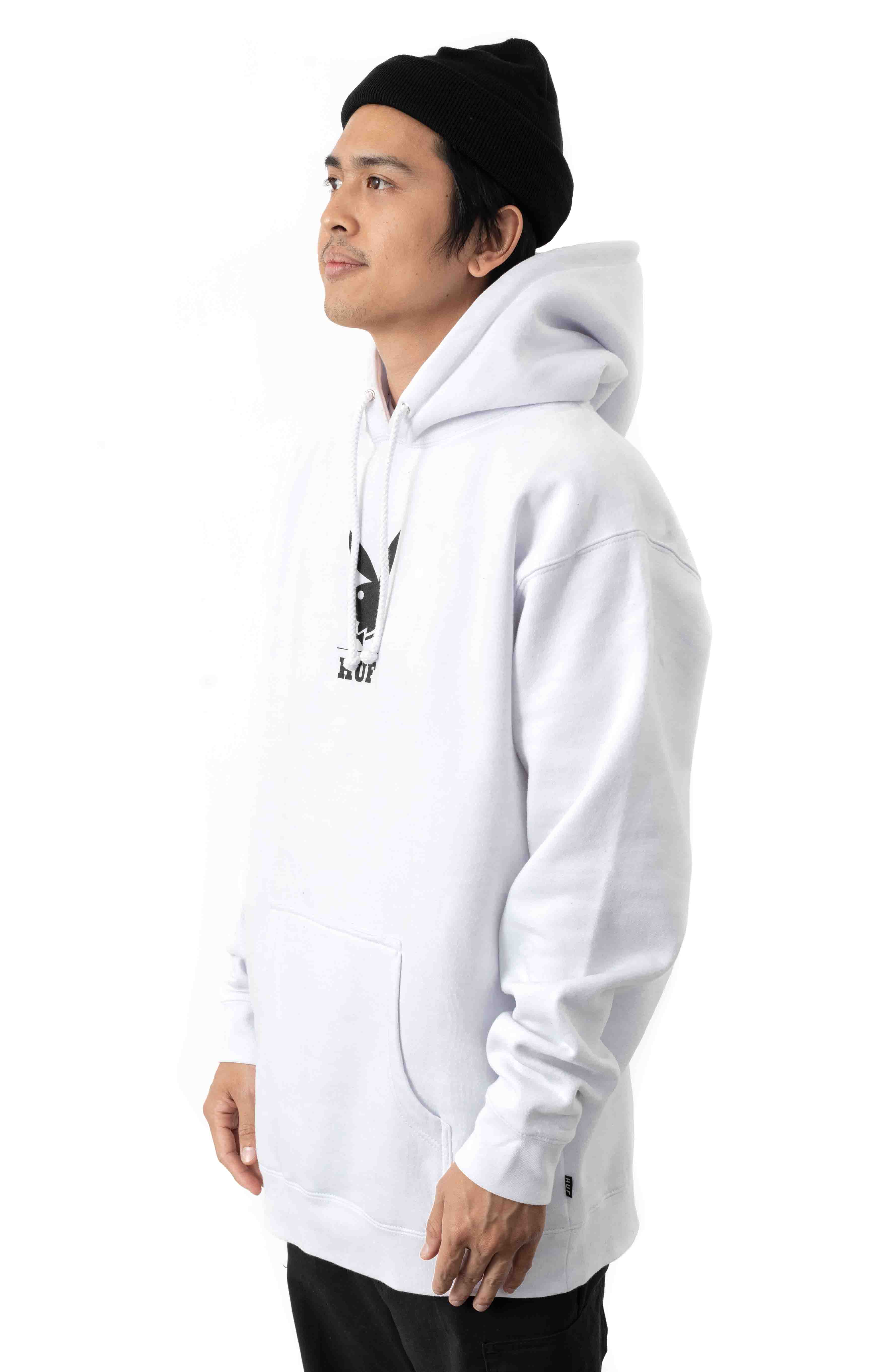 MAY88 Cover Pullover Hoodie - White  2