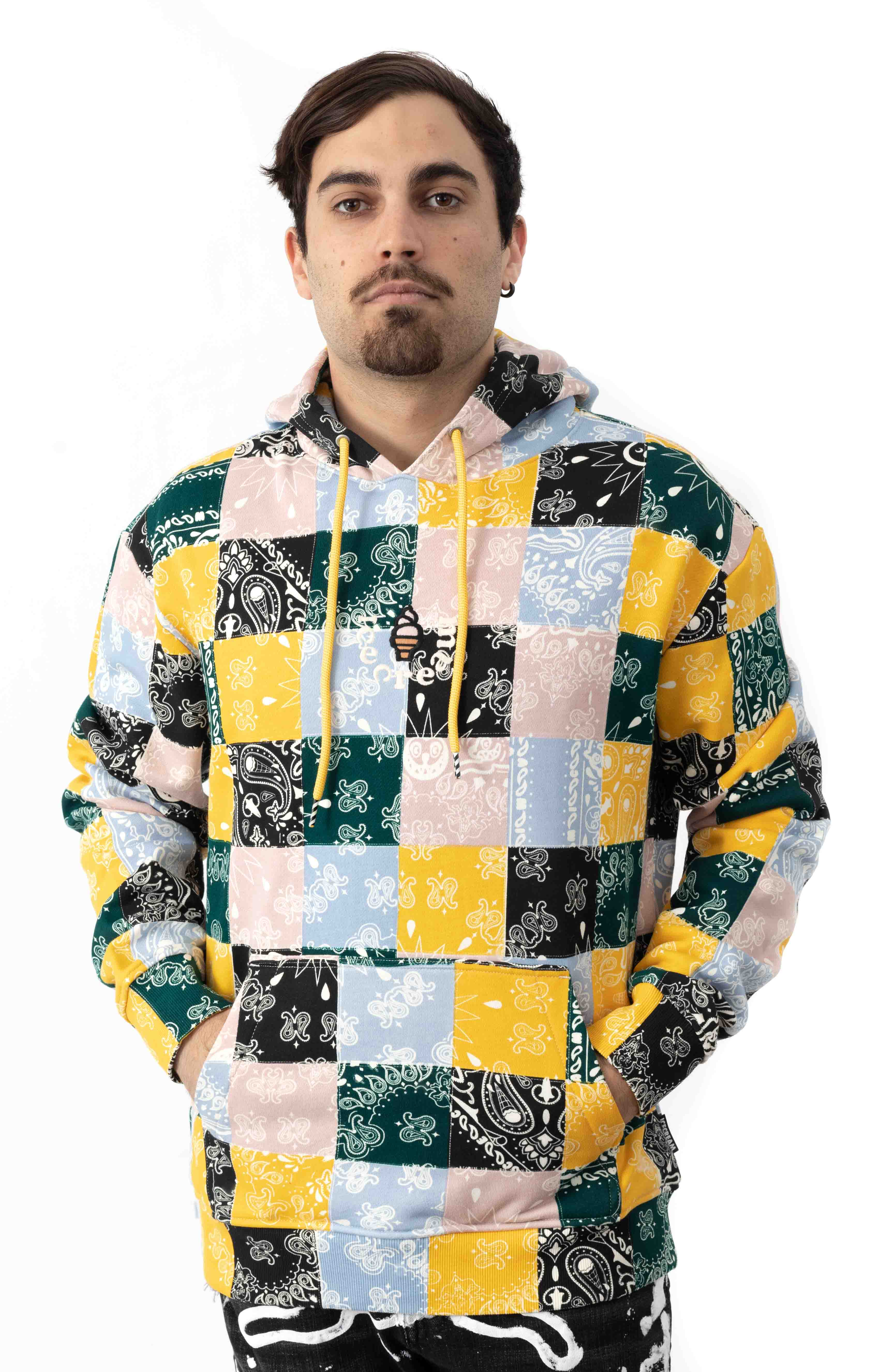 Colored Pullover Hoodie - Multi  2