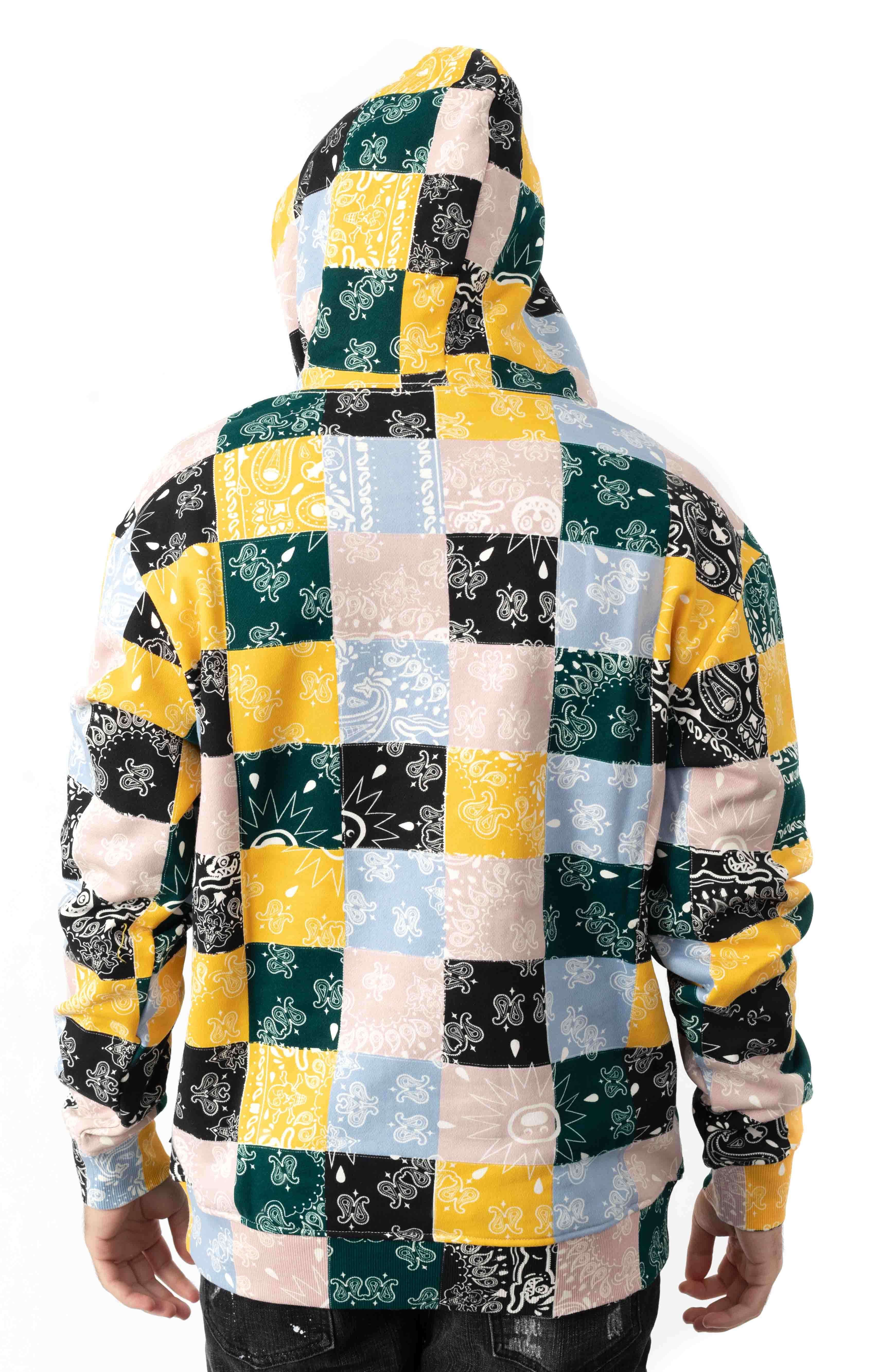Colored Pullover Hoodie - Multi  3