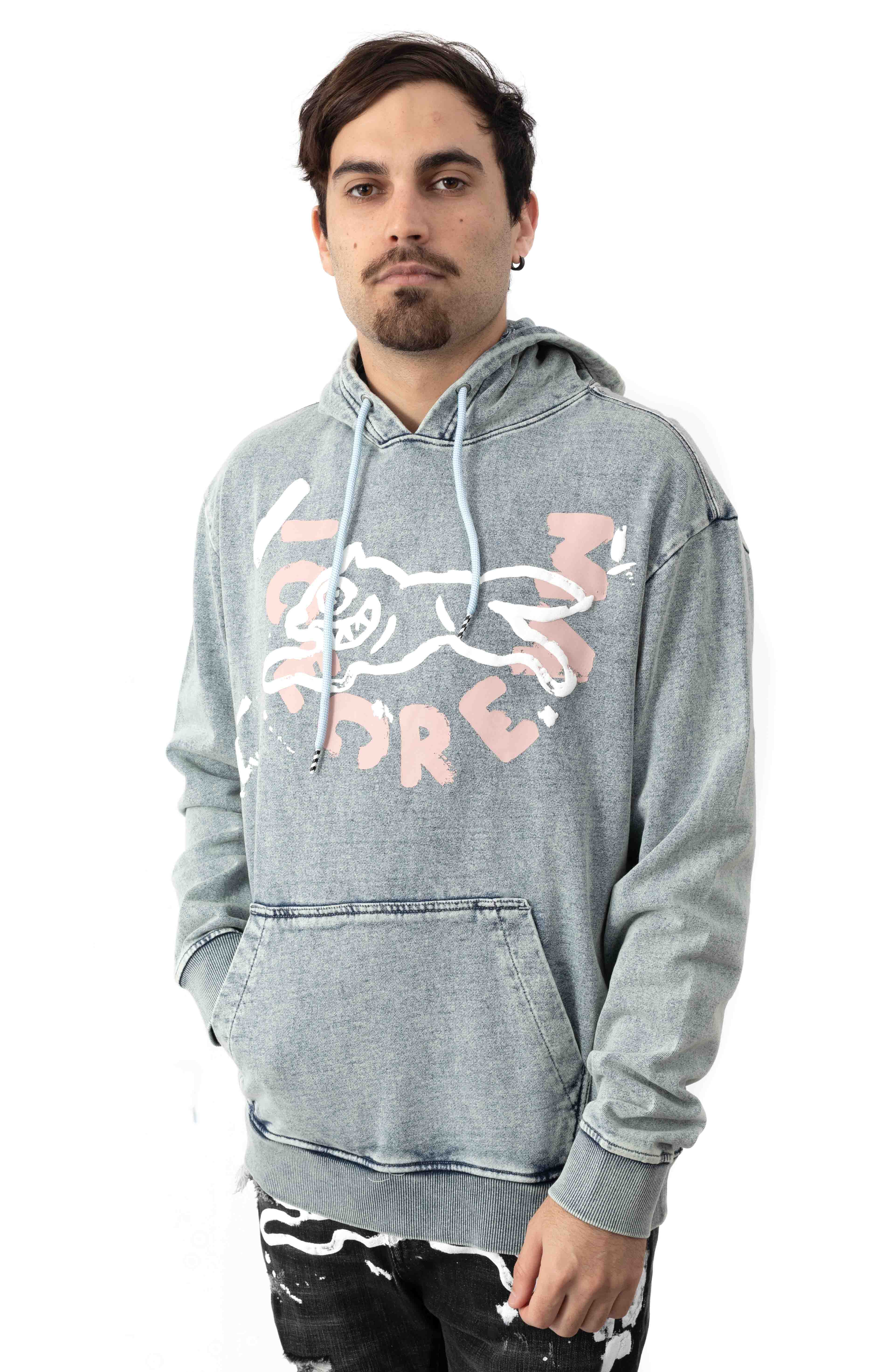 Stone Pullover Hoodie - Celestial Blue