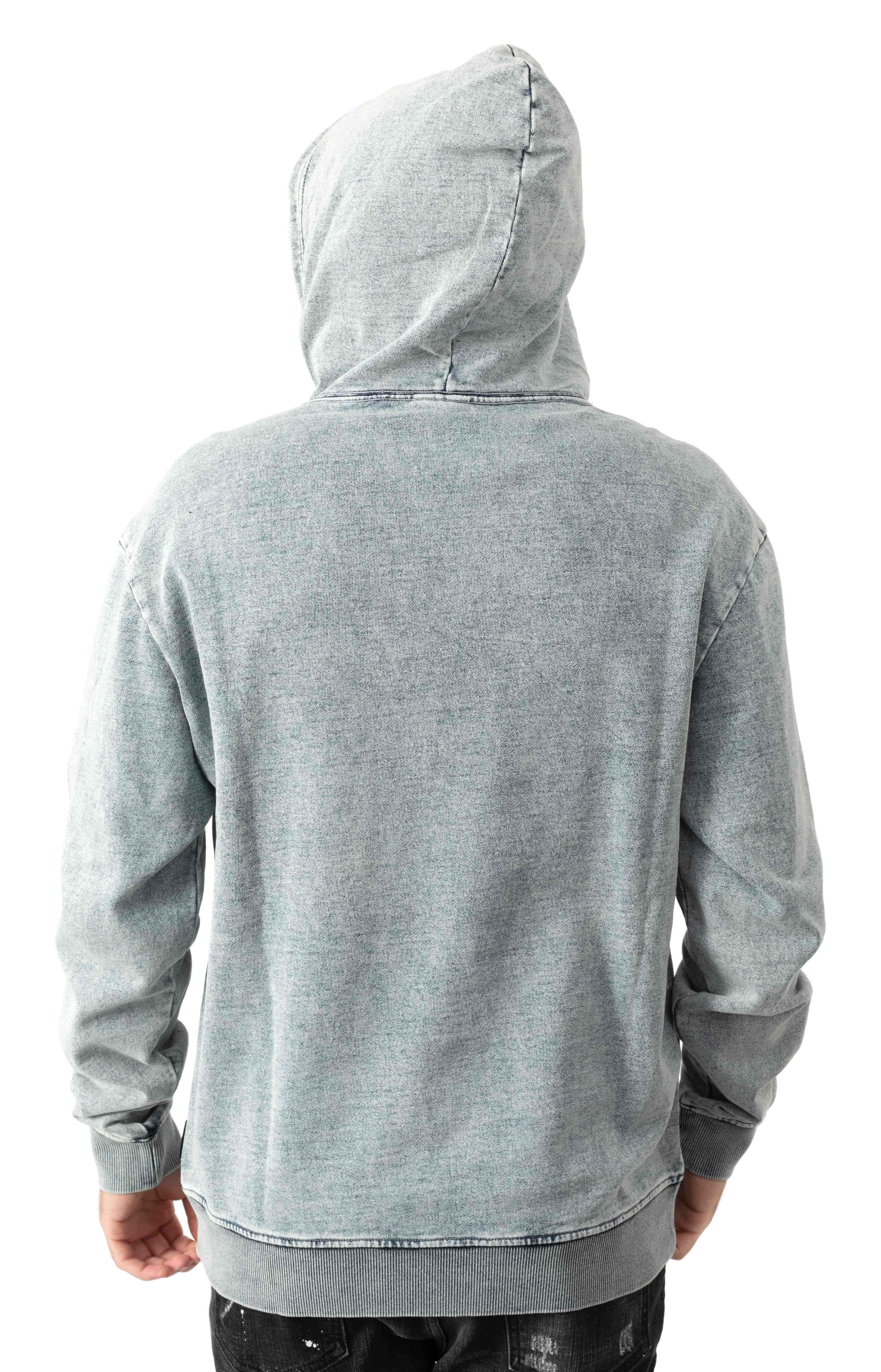 Stone Pullover Hoodie - Celestial Blue  3