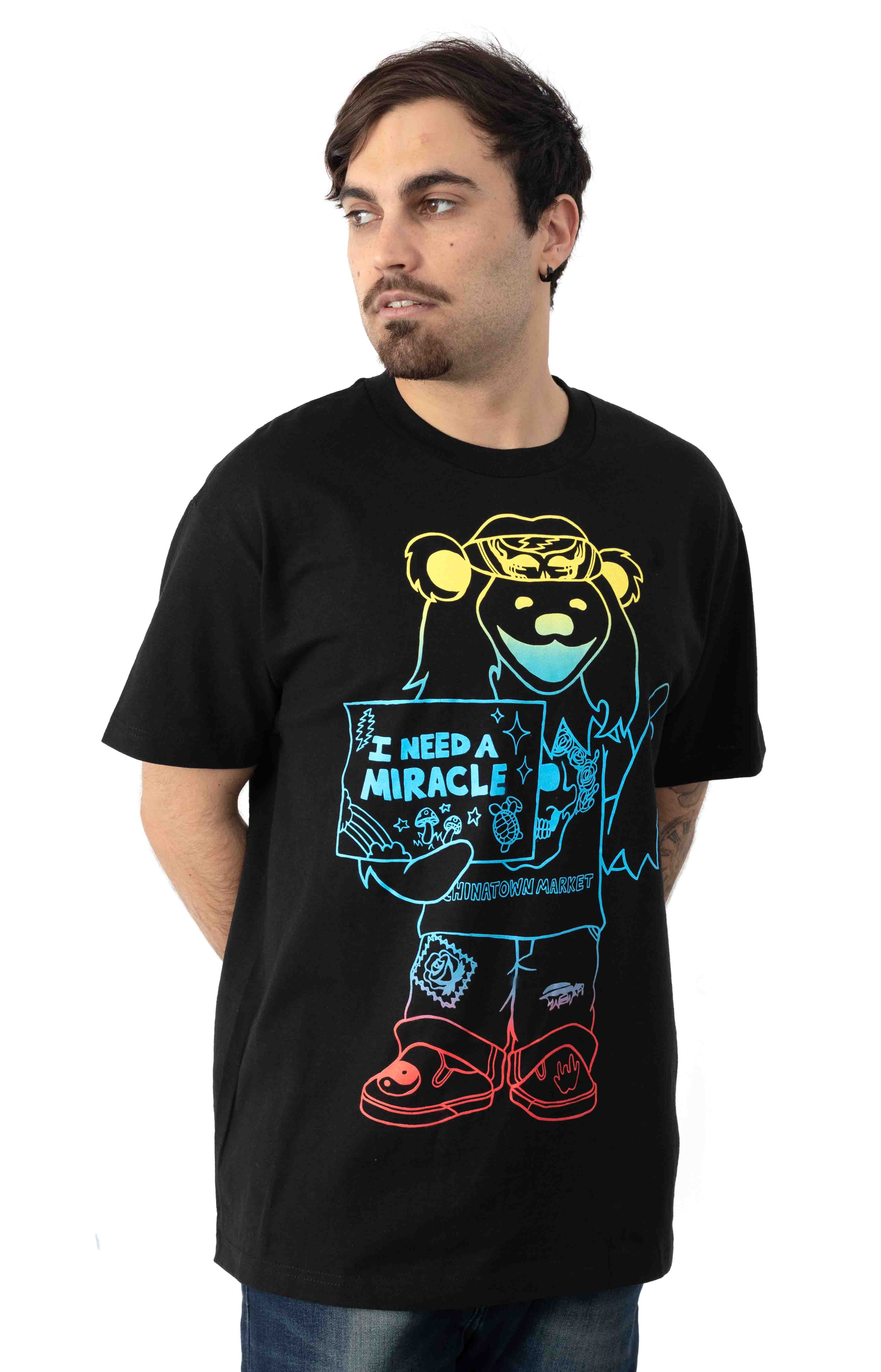 GD Miracle Hippie Gradient T-Shirt - Black