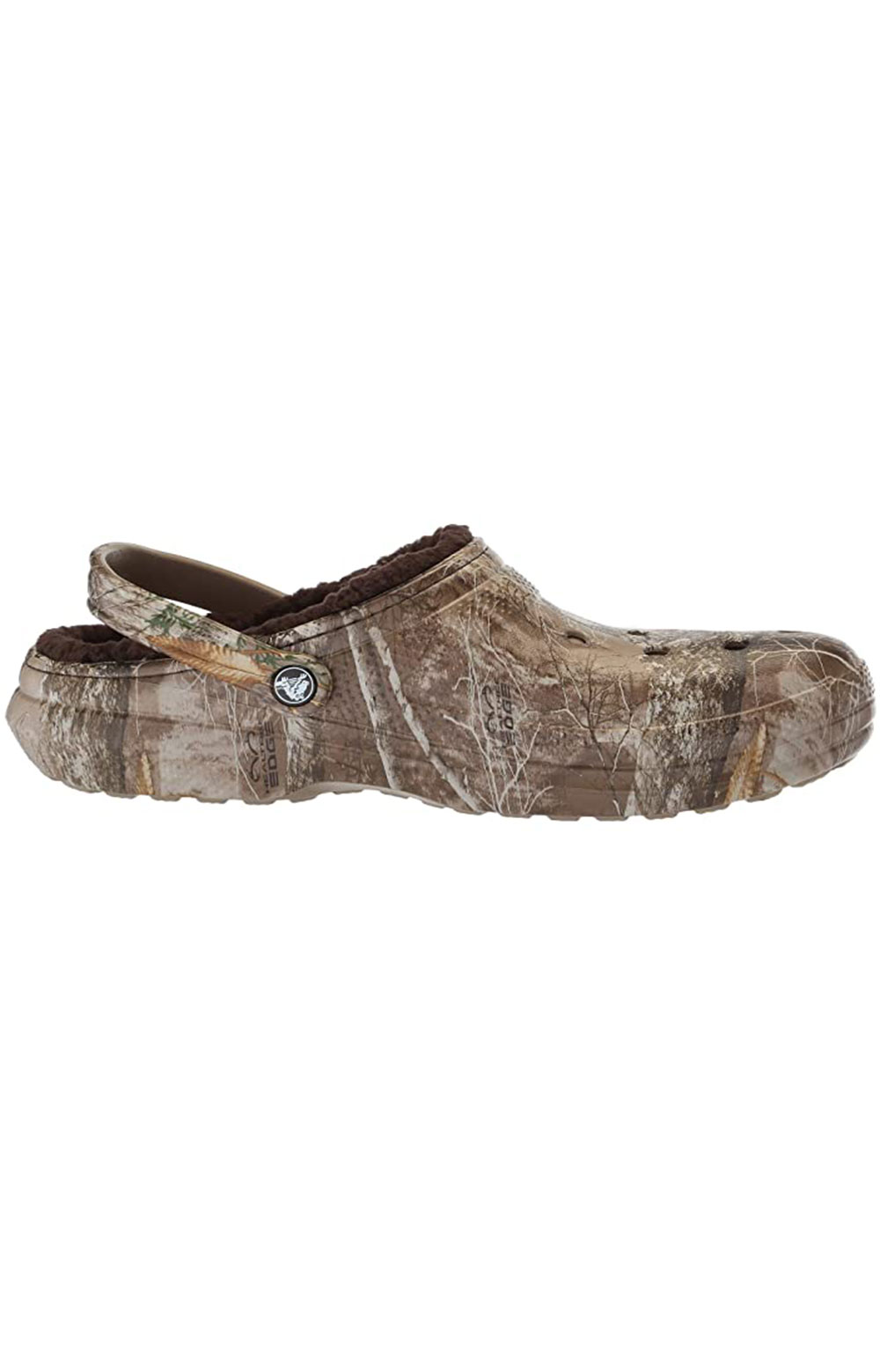 Classic Lined Realtree Edge Clogs - Chocolate/Chocolate