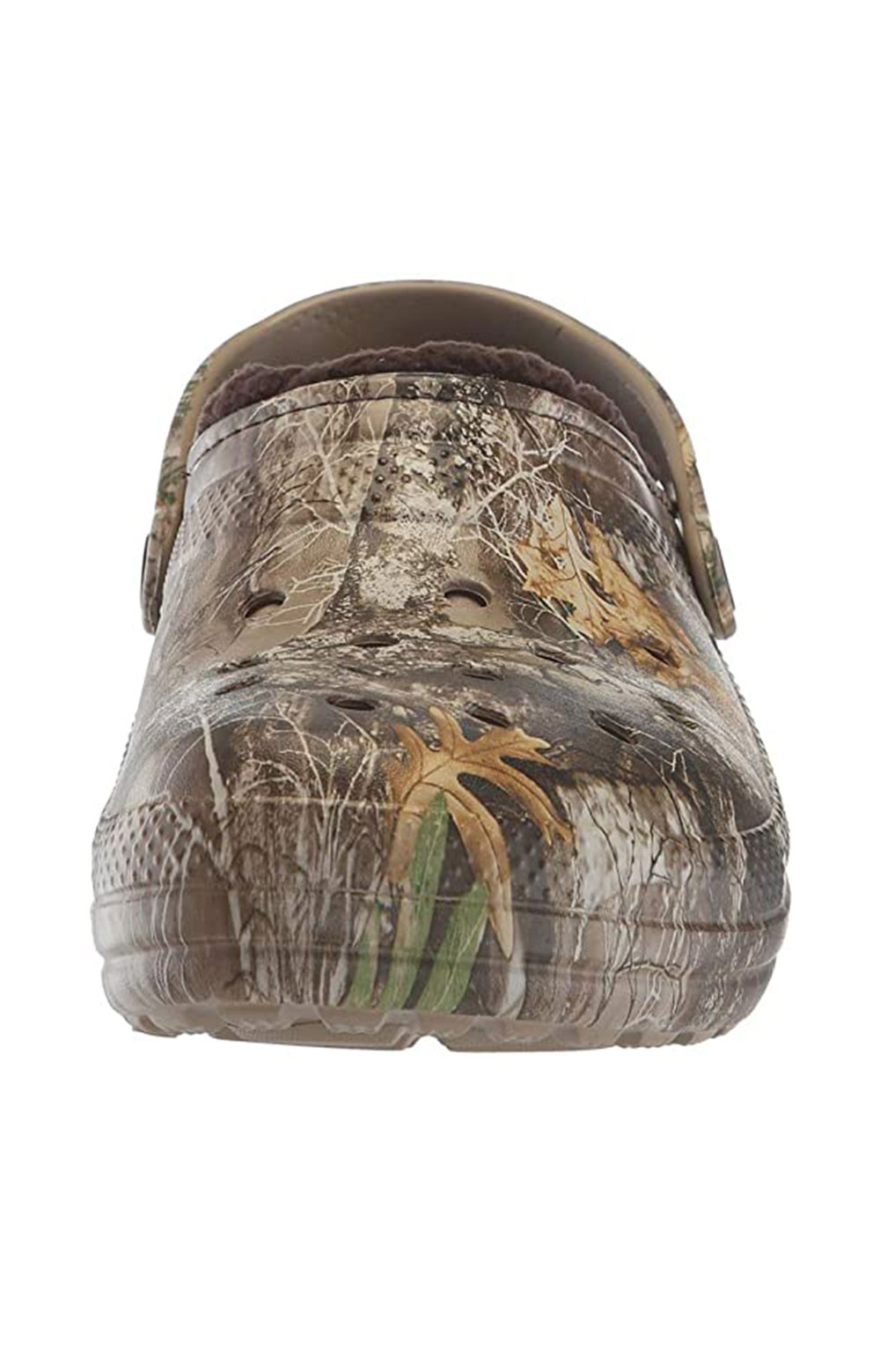 Classic Lined Realtree Edge Clogs - Chocolate/Chocolate 7