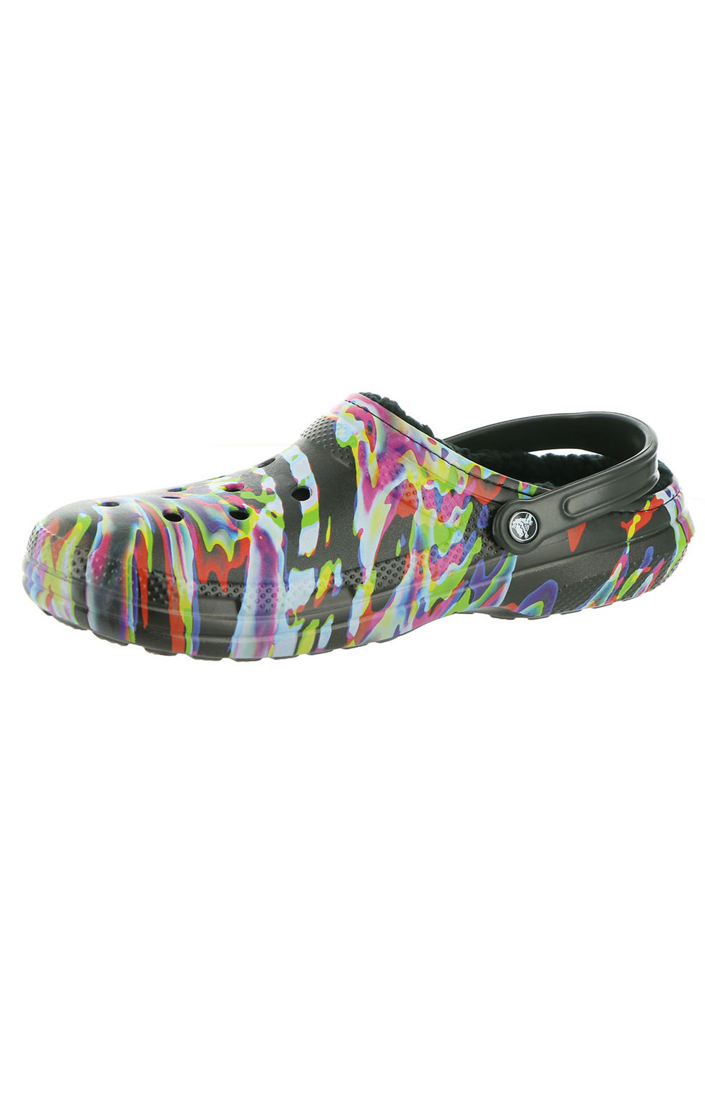 Classic Lined Out Of This World Clogs - Black/Multi 4