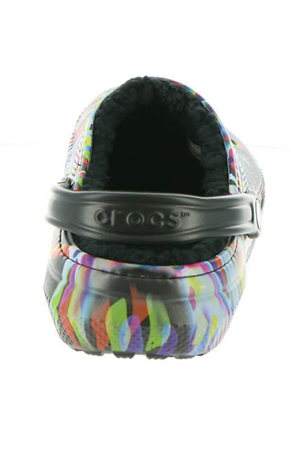 Classic Lined Out Of This World Clogs - Black/Multi 5