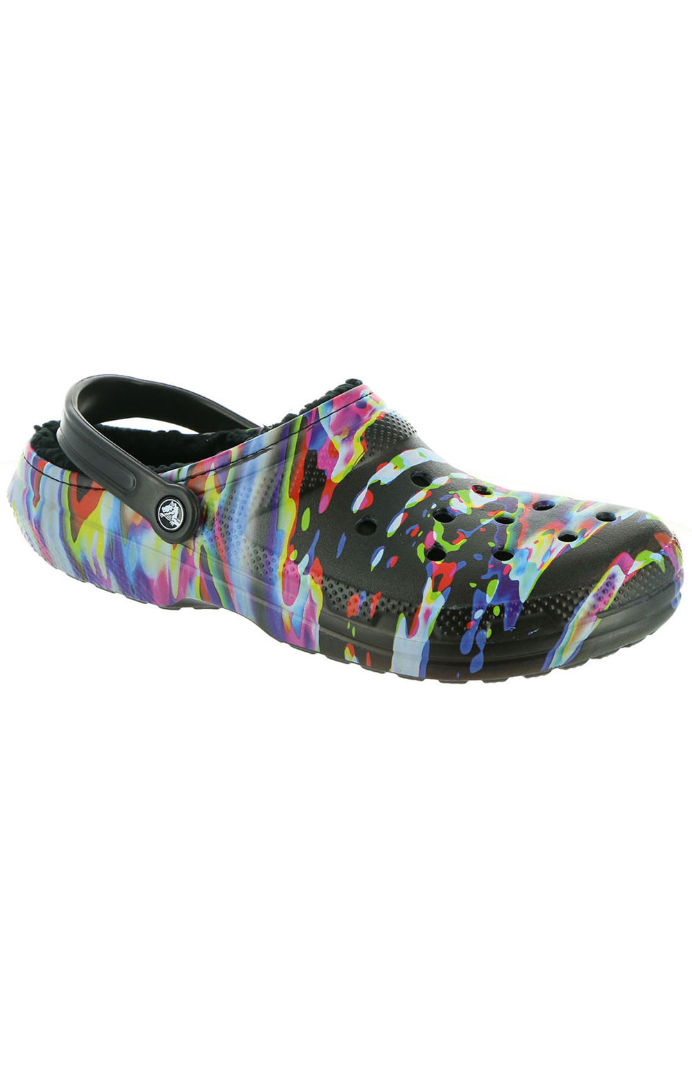 Classic Lined Out Of This World Clogs - Black/Multi