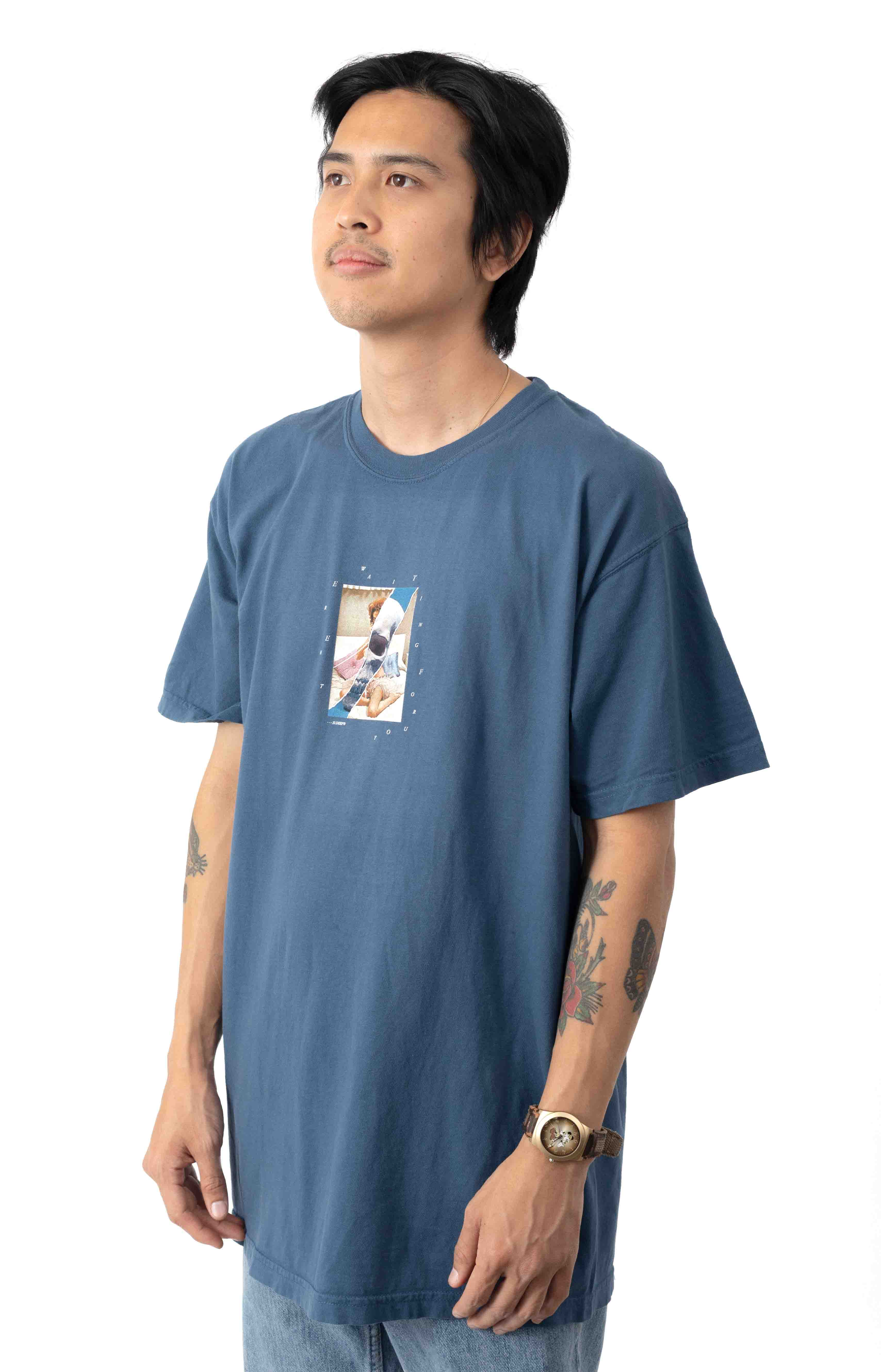 Love And Death T-Shirt - Blue 2