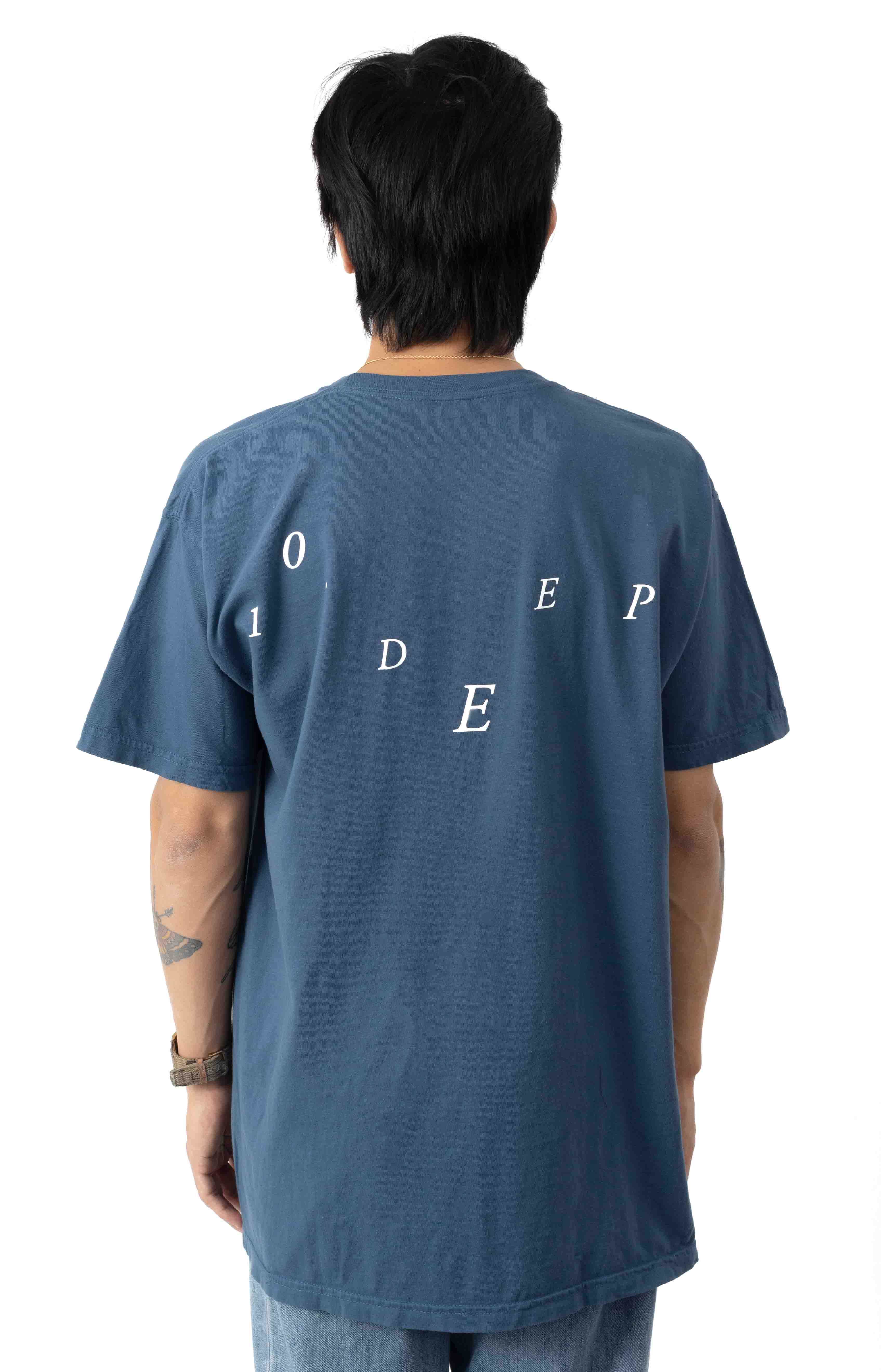 Love And Death T-Shirt - Blue 3