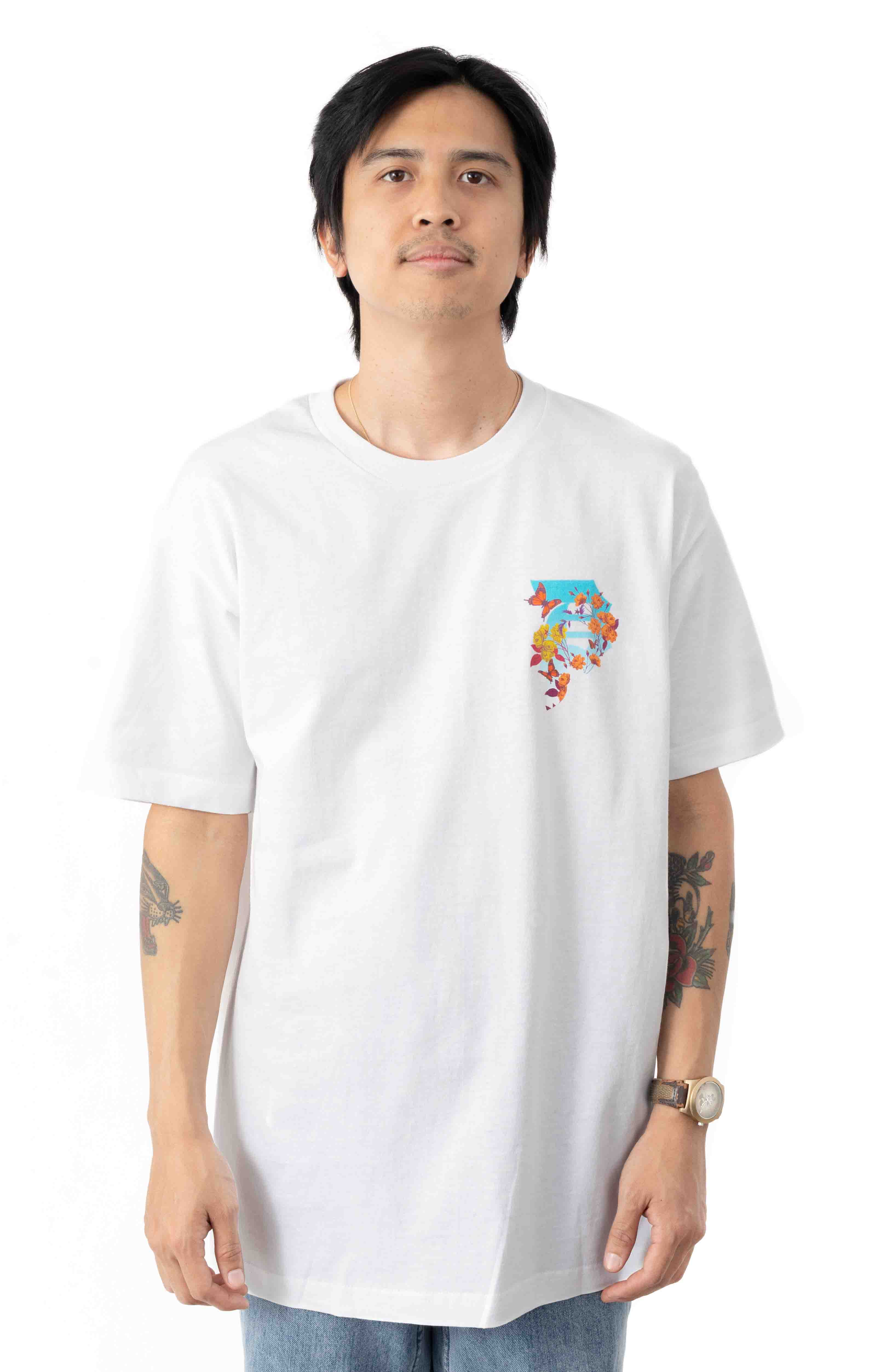 Dirty P Cycles T-Shirt - White  2