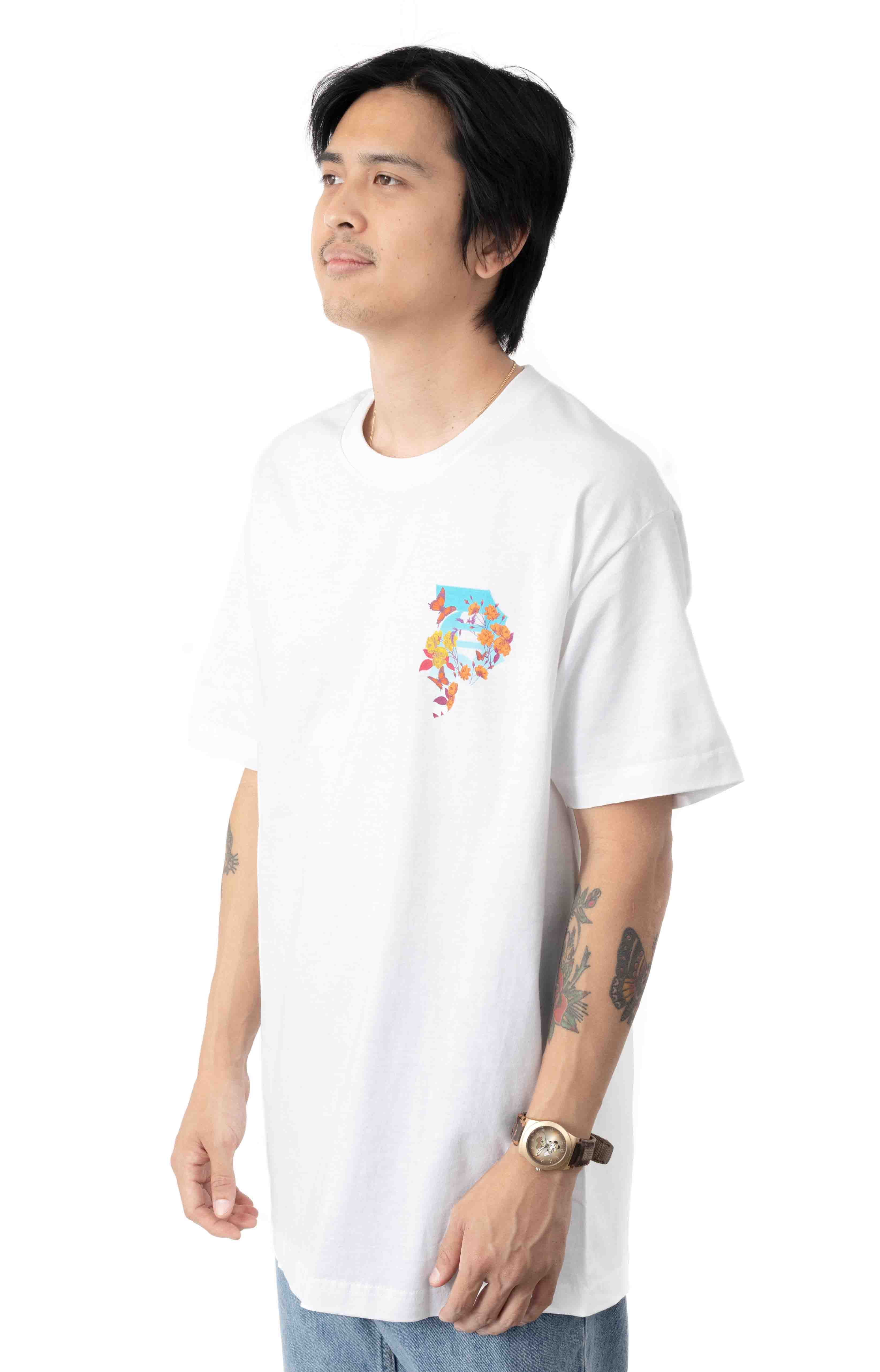 Dirty P Cycles T-Shirt - White  3