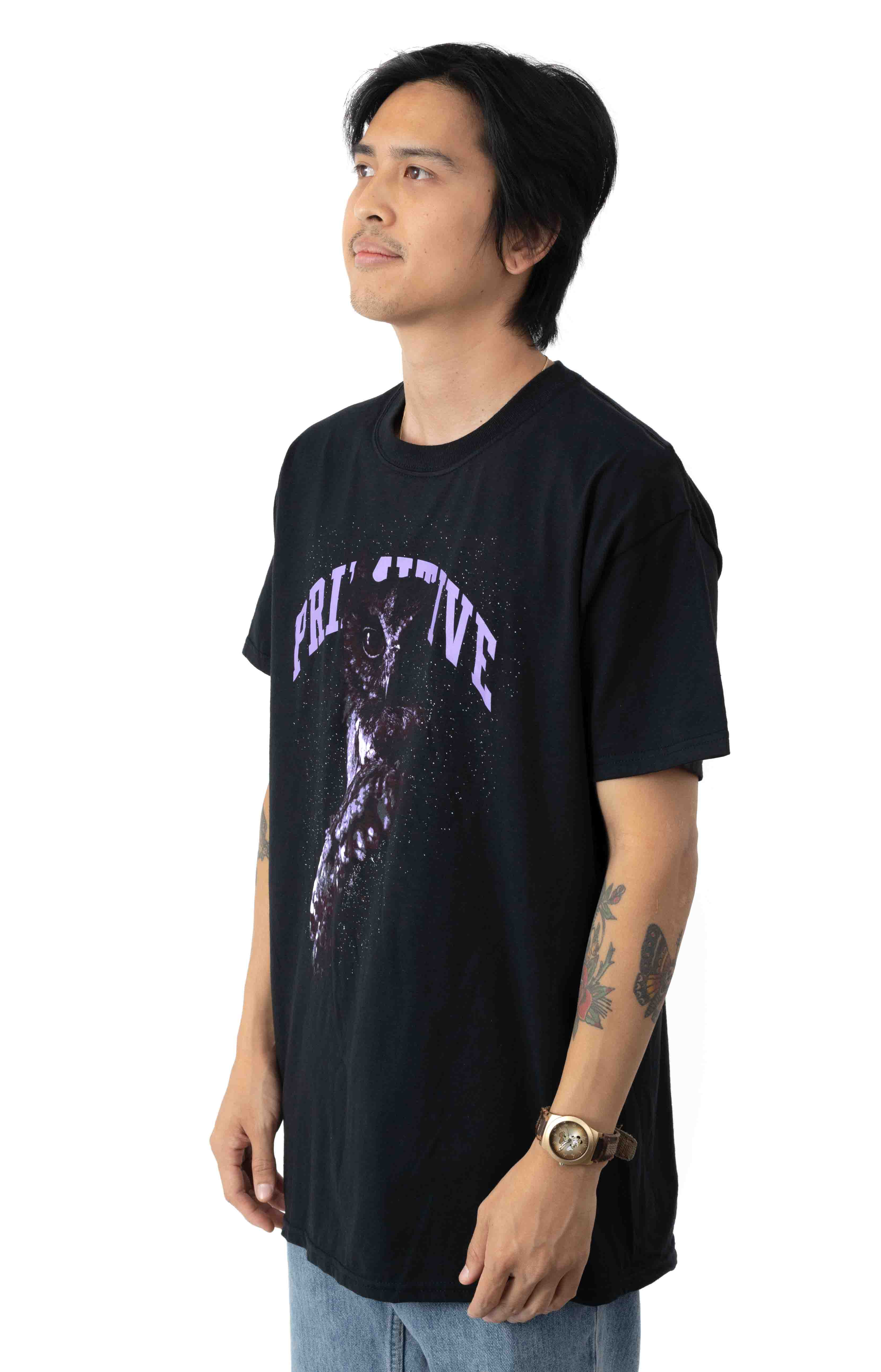 Night Owl T-Shirt - Black 2