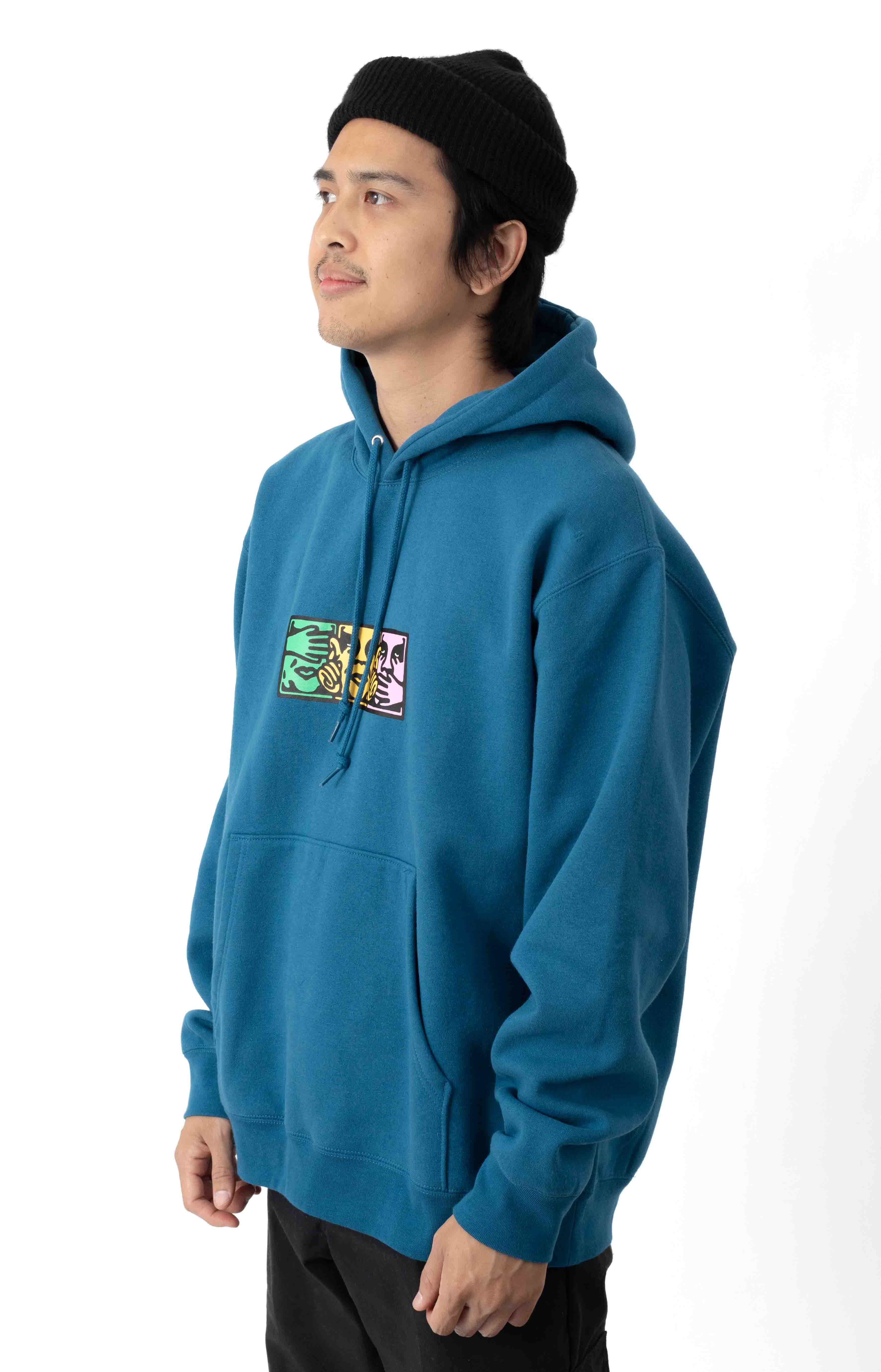 No Evil Pullover Hoodie - Sapphire 2