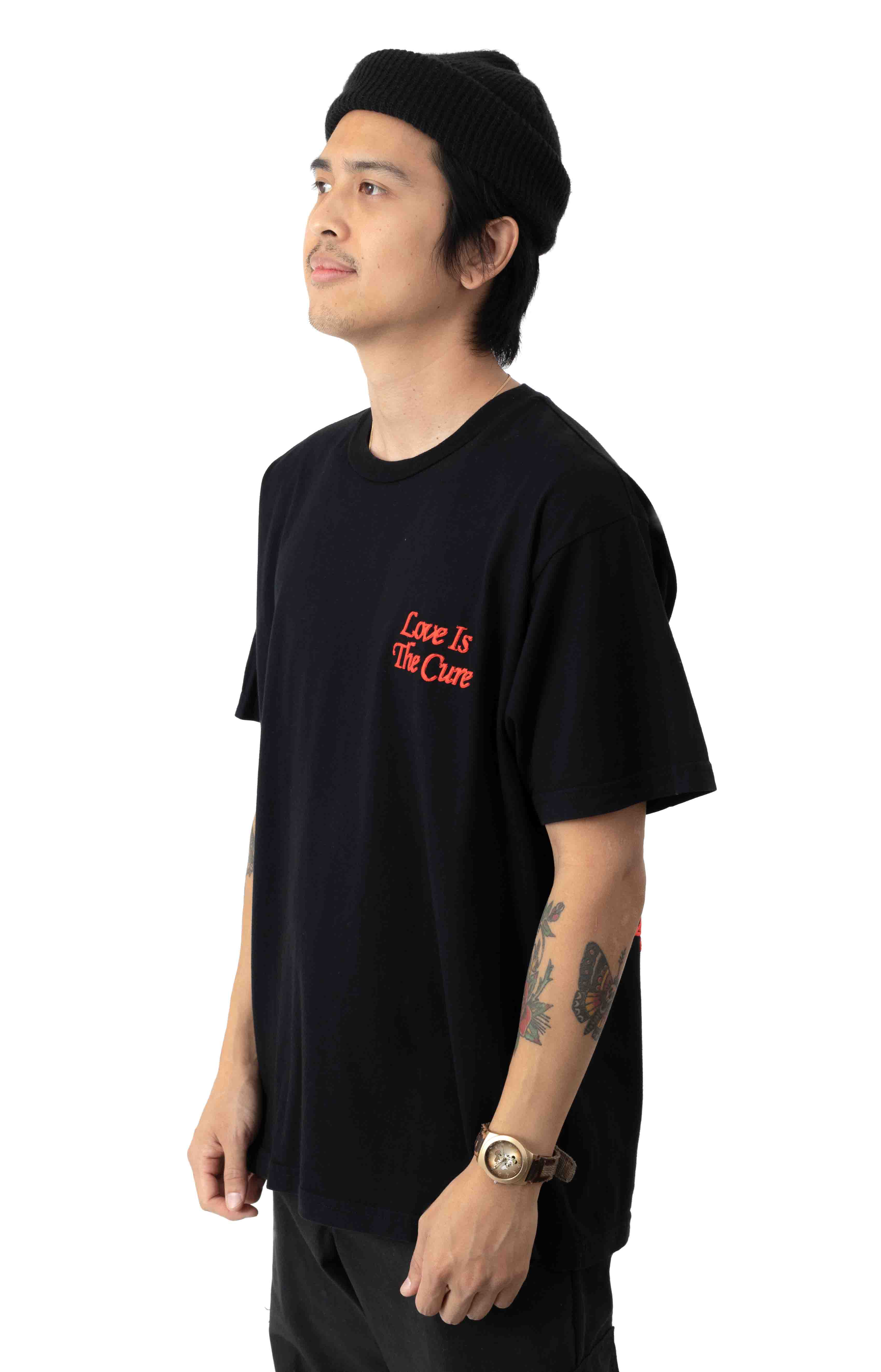 Love Is The Cure T-Shirt - Black 2