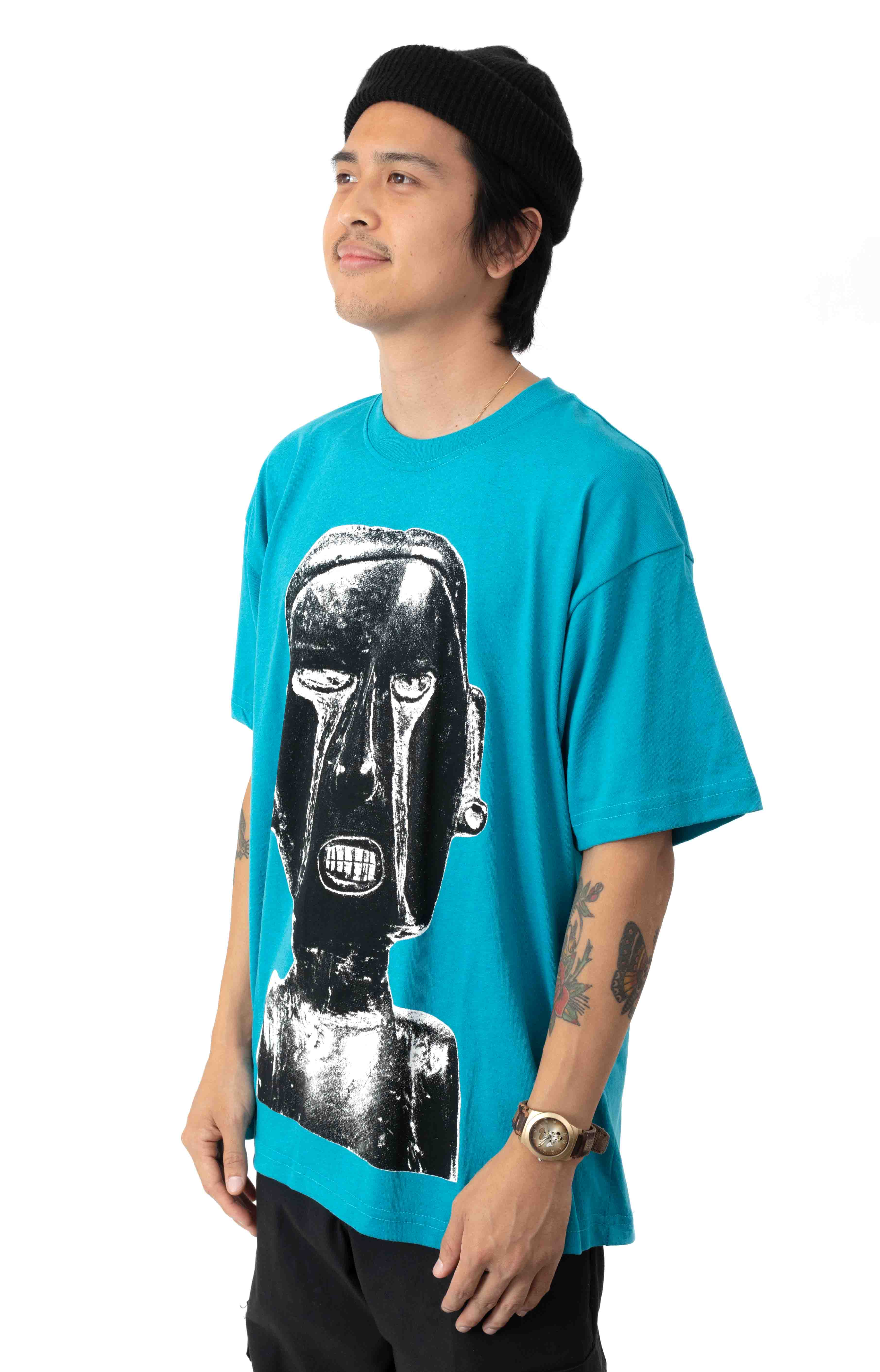 Earth Crisis T-Shirt - Turquoise  2