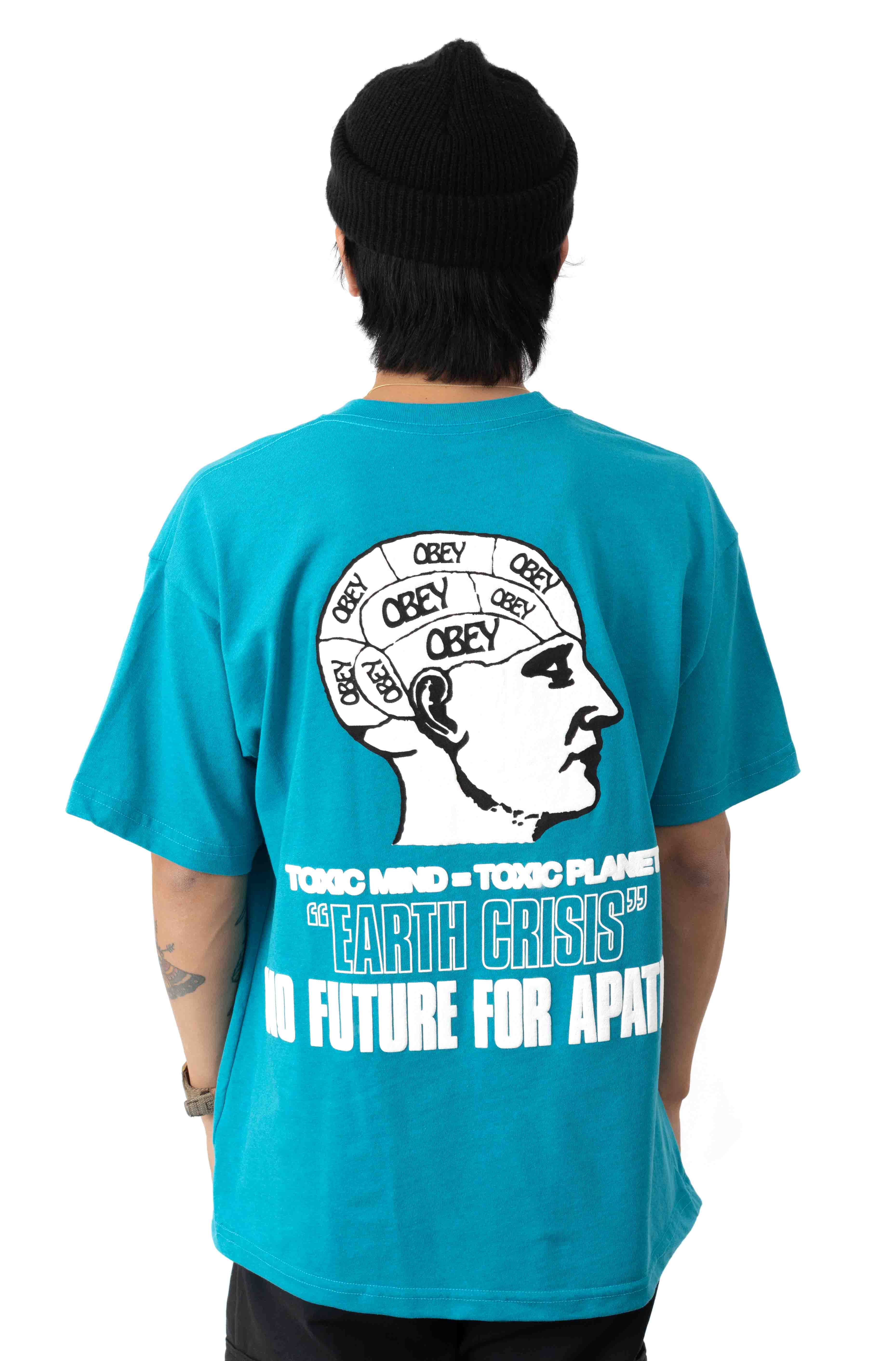 Earth Crisis T-Shirt - Turquoise  3