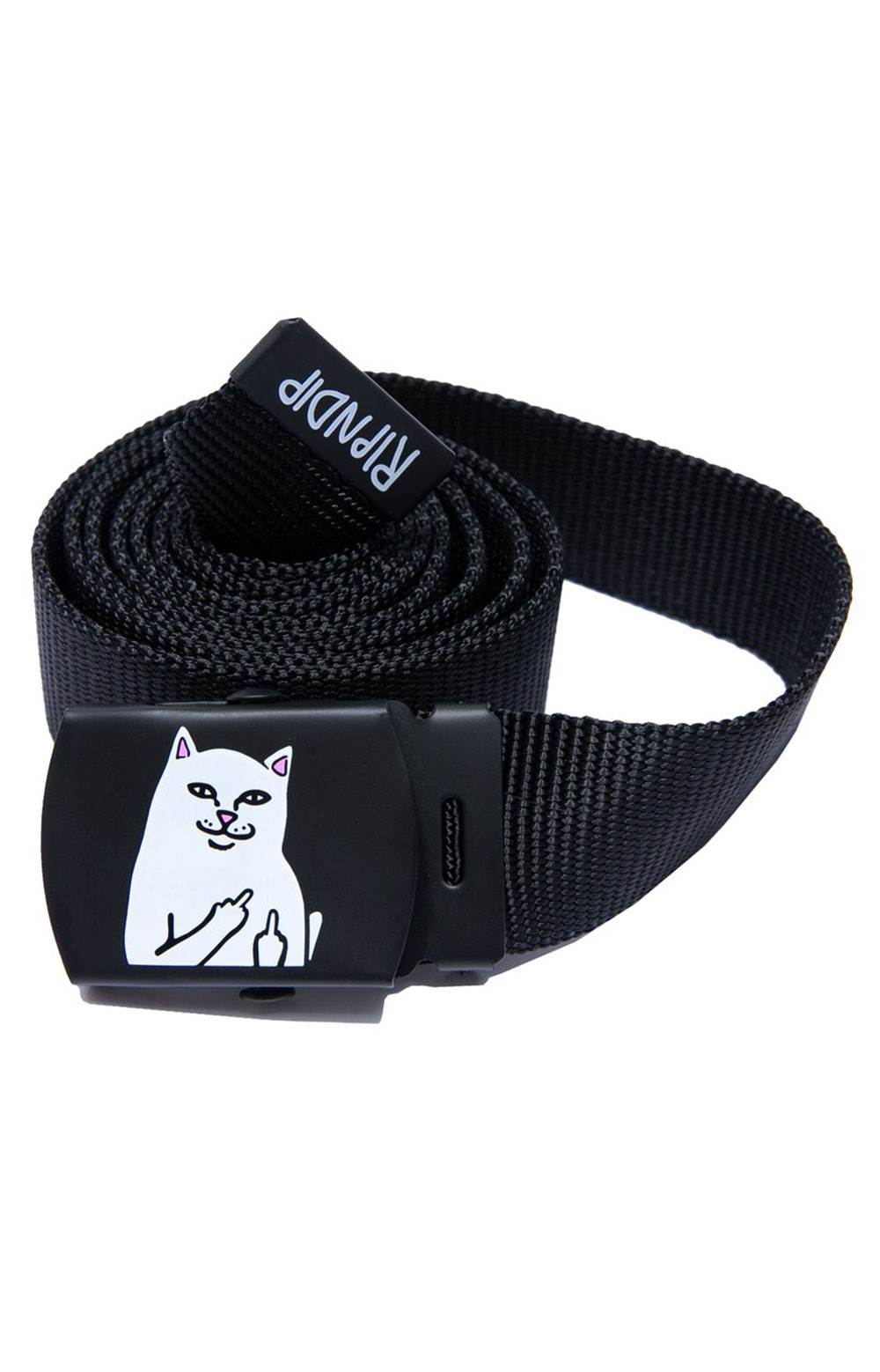 Lord Nermal Web Belt - Black