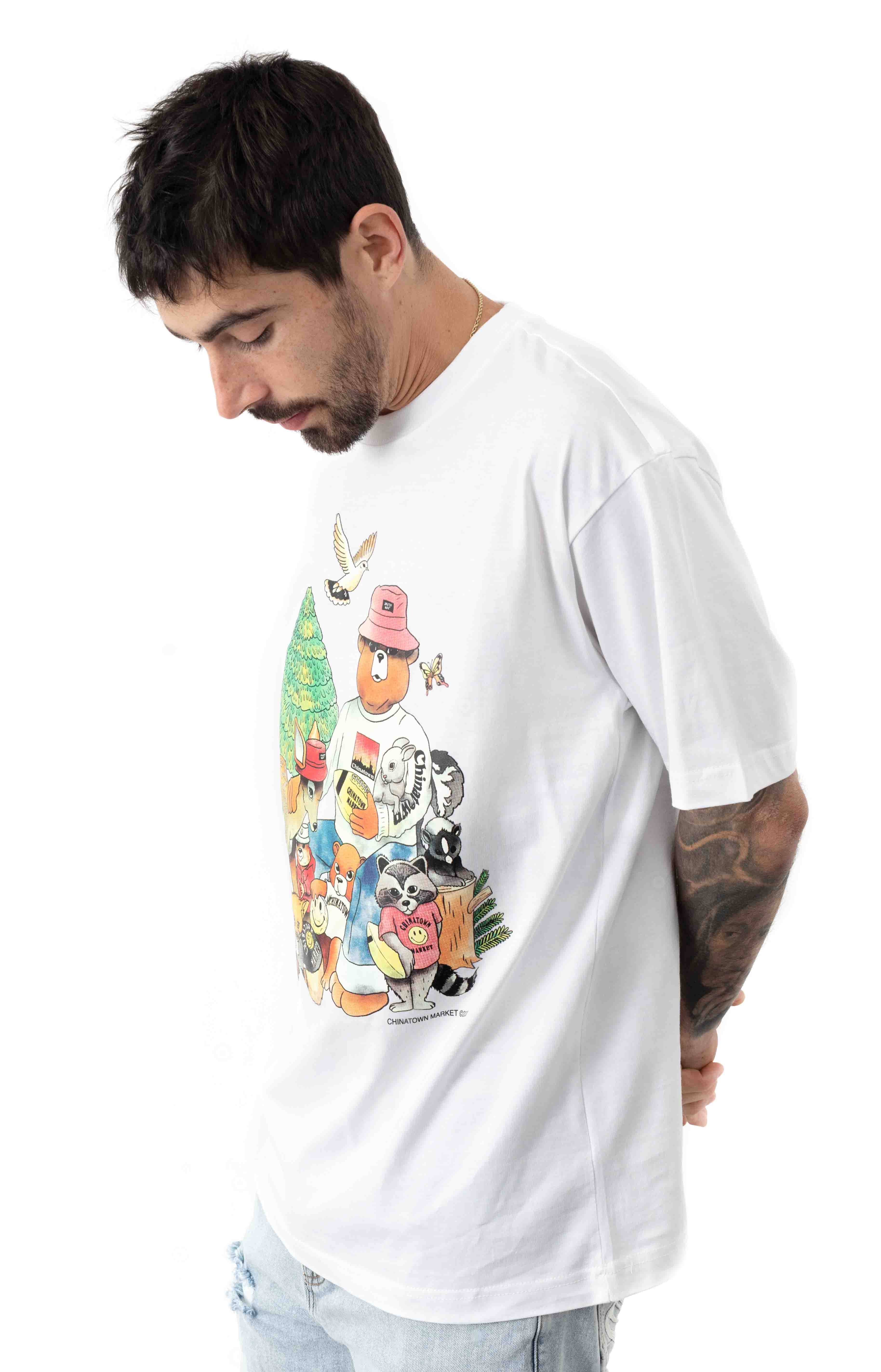 Smiley Friends T-Shirt - White  2
